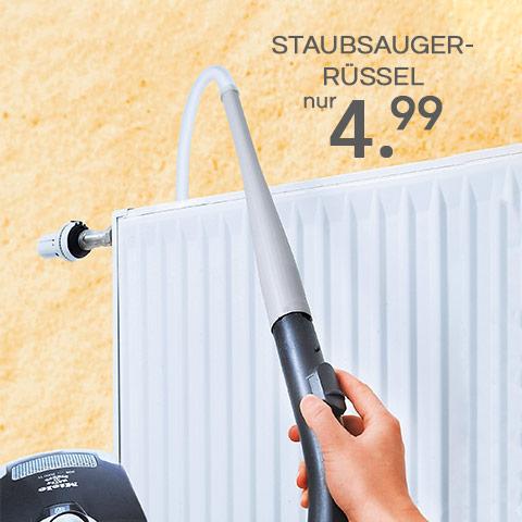 Staubsauger-Rüssel