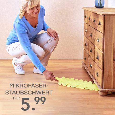Mikrofaser-Staubschwert