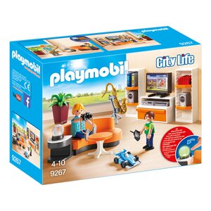 Playmobil city life 9270 fr hliches kinderzimmer online for Kinderzimmer play 01