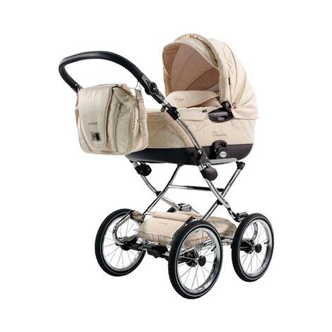 knorr baby classico diamond kombikinderwagen mit wickeltasche online kaufen baby walz. Black Bedroom Furniture Sets. Home Design Ideas