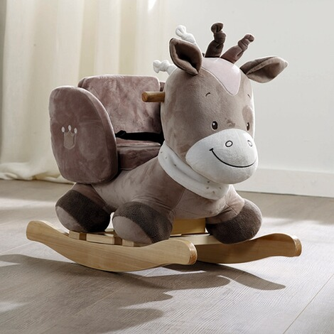 nattou noa le cheval bascule commander en ligne baby walz. Black Bedroom Furniture Sets. Home Design Ideas