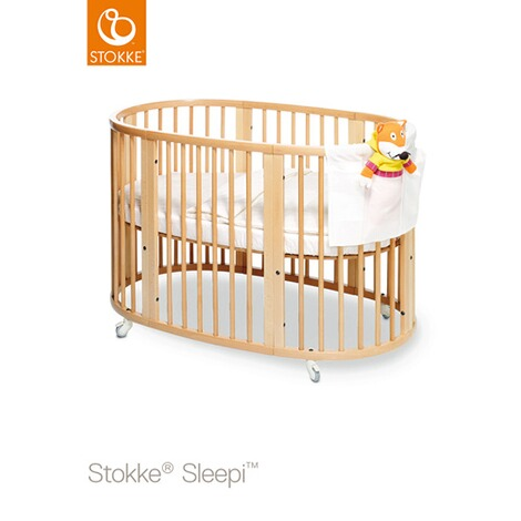 stokke sleepi sleepi babybett mit ausstattung 127x74x86 cm online kaufen baby walz. Black Bedroom Furniture Sets. Home Design Ideas