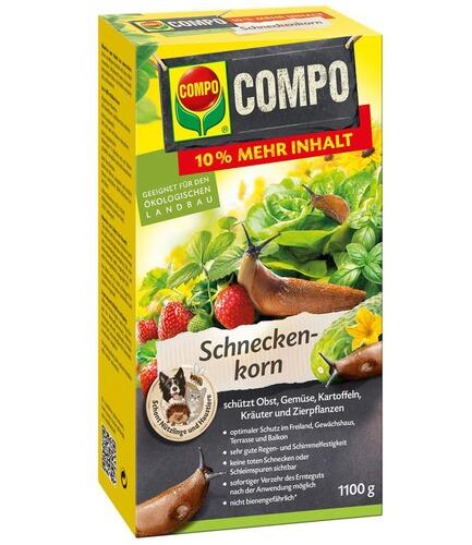 compo bio schneckenkorn1100 g online kaufen  die moderne