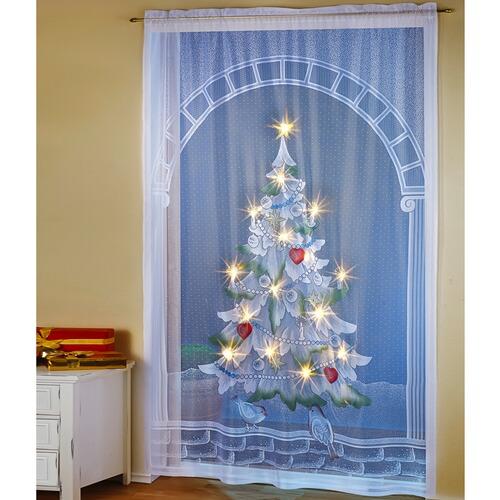 led vorhang christbaum online kaufen die moderne hausfrau. Black Bedroom Furniture Sets. Home Design Ideas