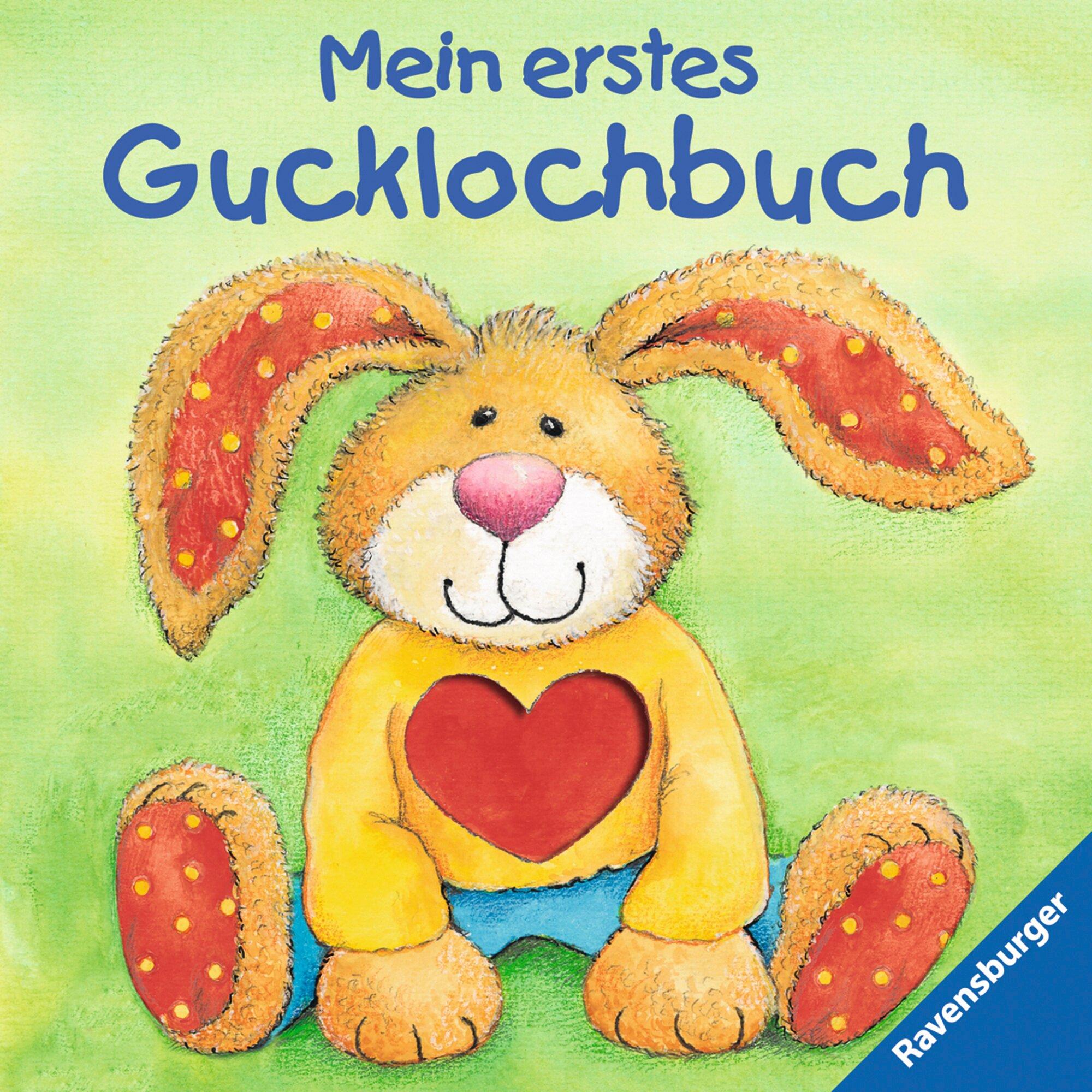 Ravensburger Pappbilderbuch-Mein erstes Gucklochbuch