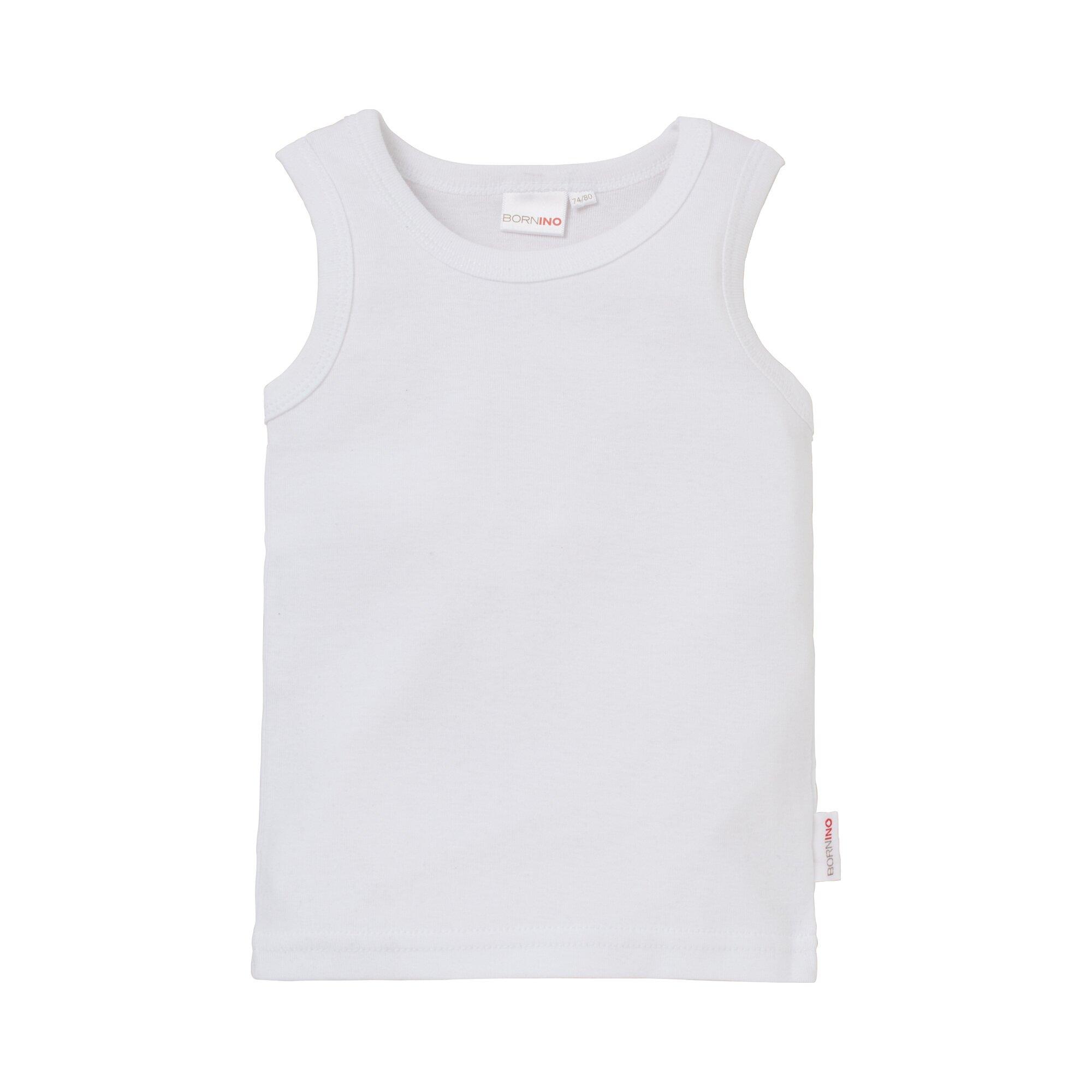 Basics Unterhemd ohne Arm