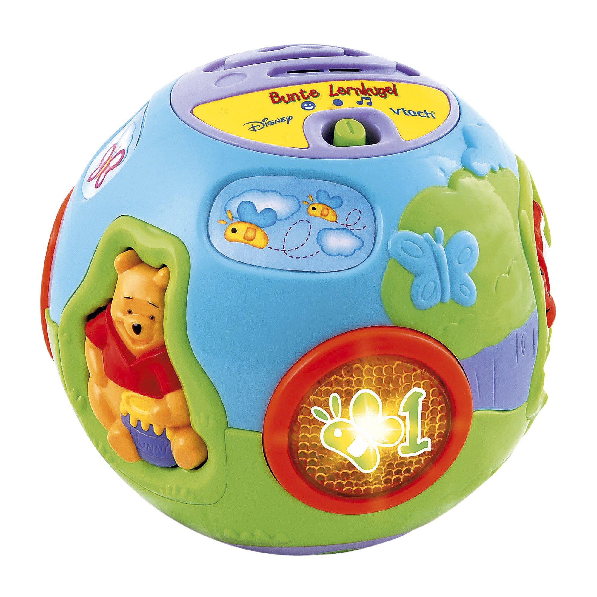 Disney Winnie Puuh Musikspielzeug Bunte Lernkugel