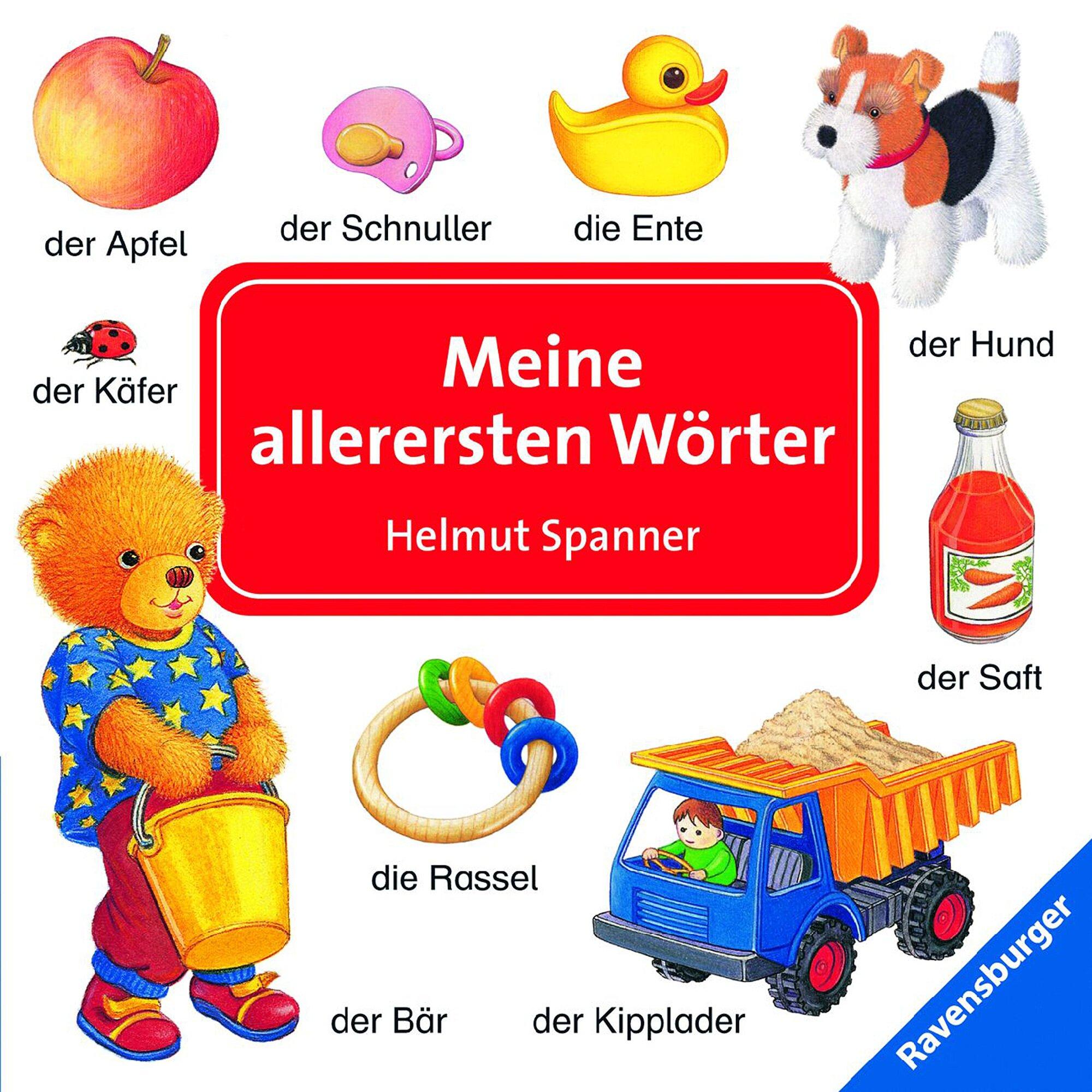 Ravensburger Pappbilderbuch-Meine allerersten Wörter