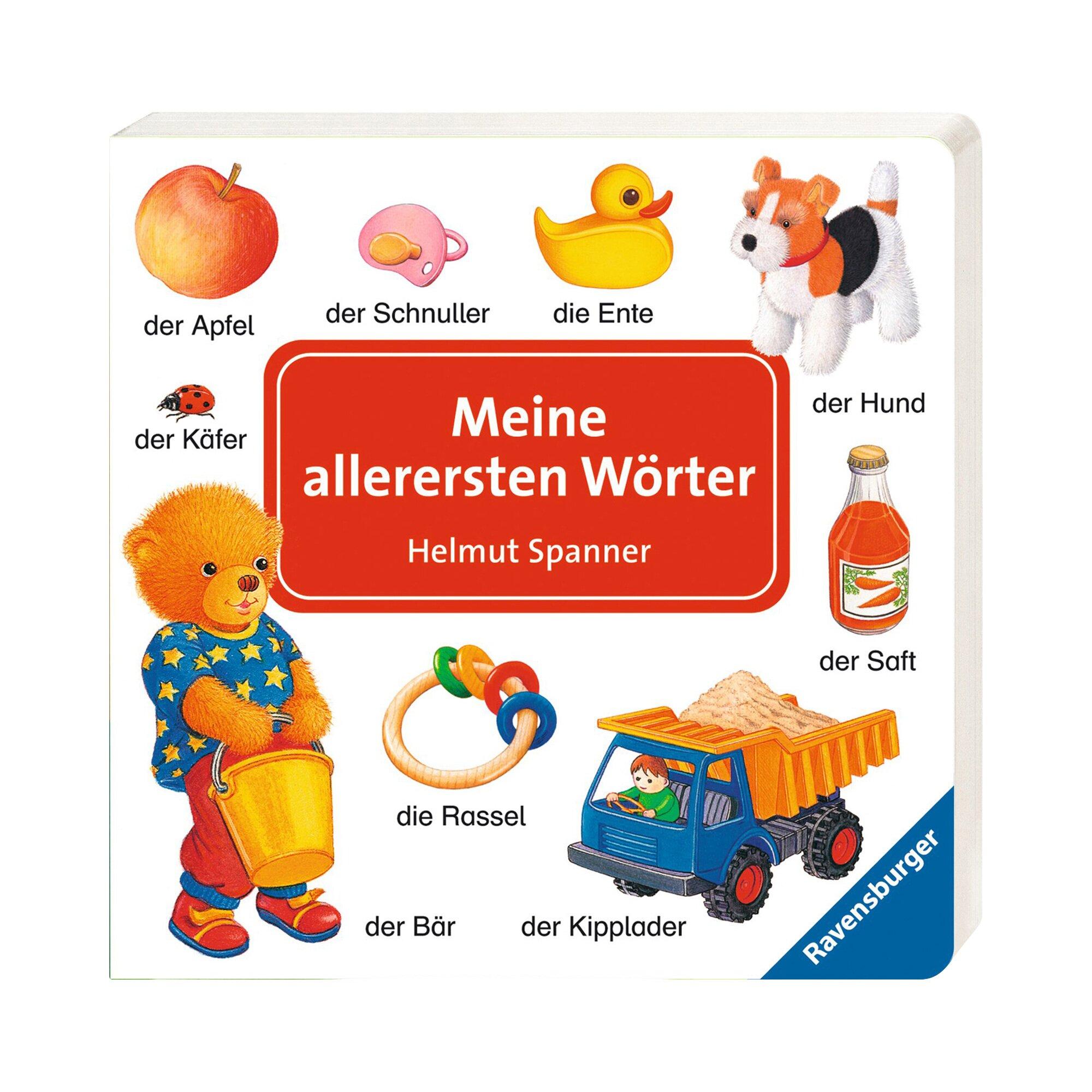 Ravensburger Pappbilderbuch Meine allerersten Wörter