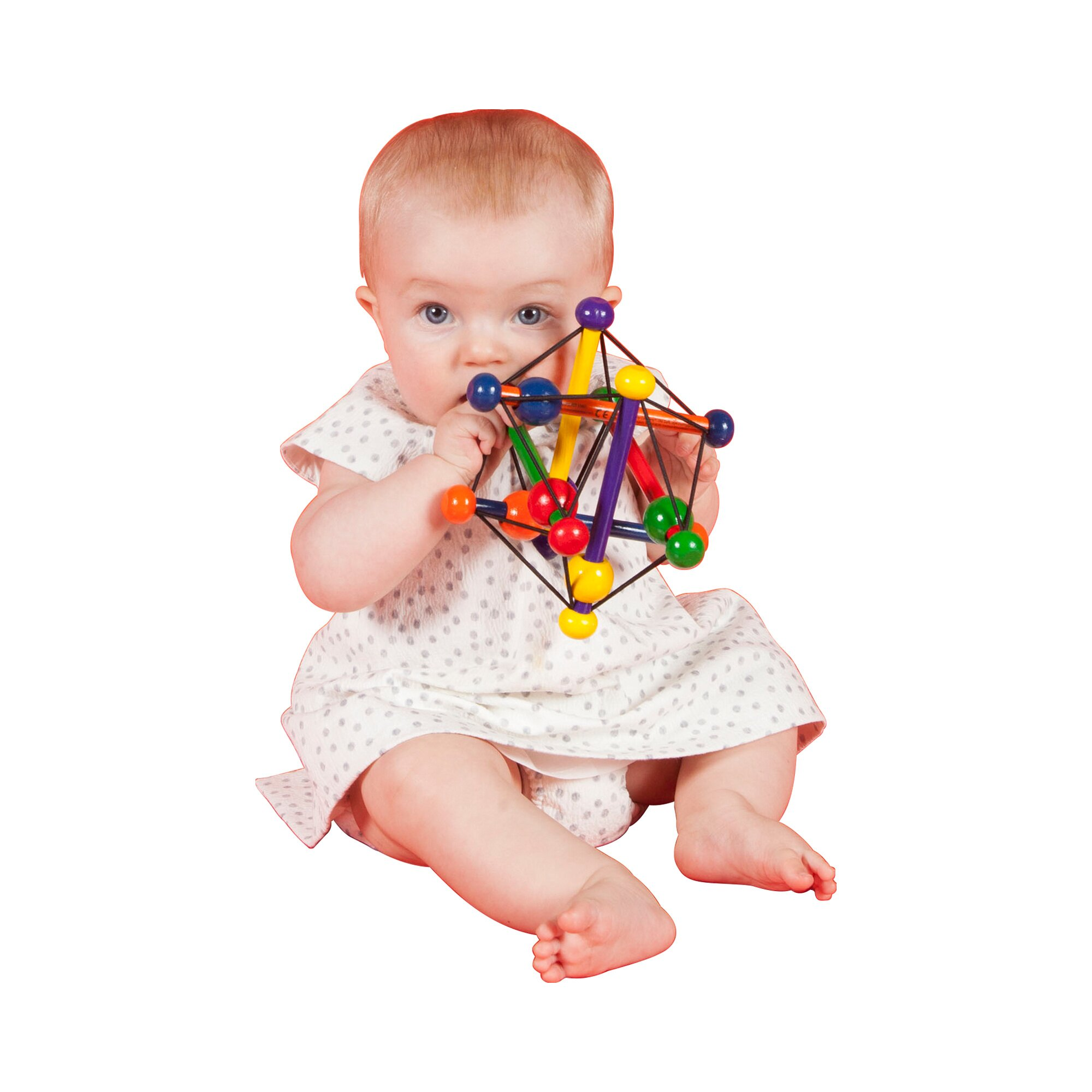 manhattan-toy-spielzeug-skwish-motorikschleife-mehrfarbig, 17.49 EUR @ babywalz-de