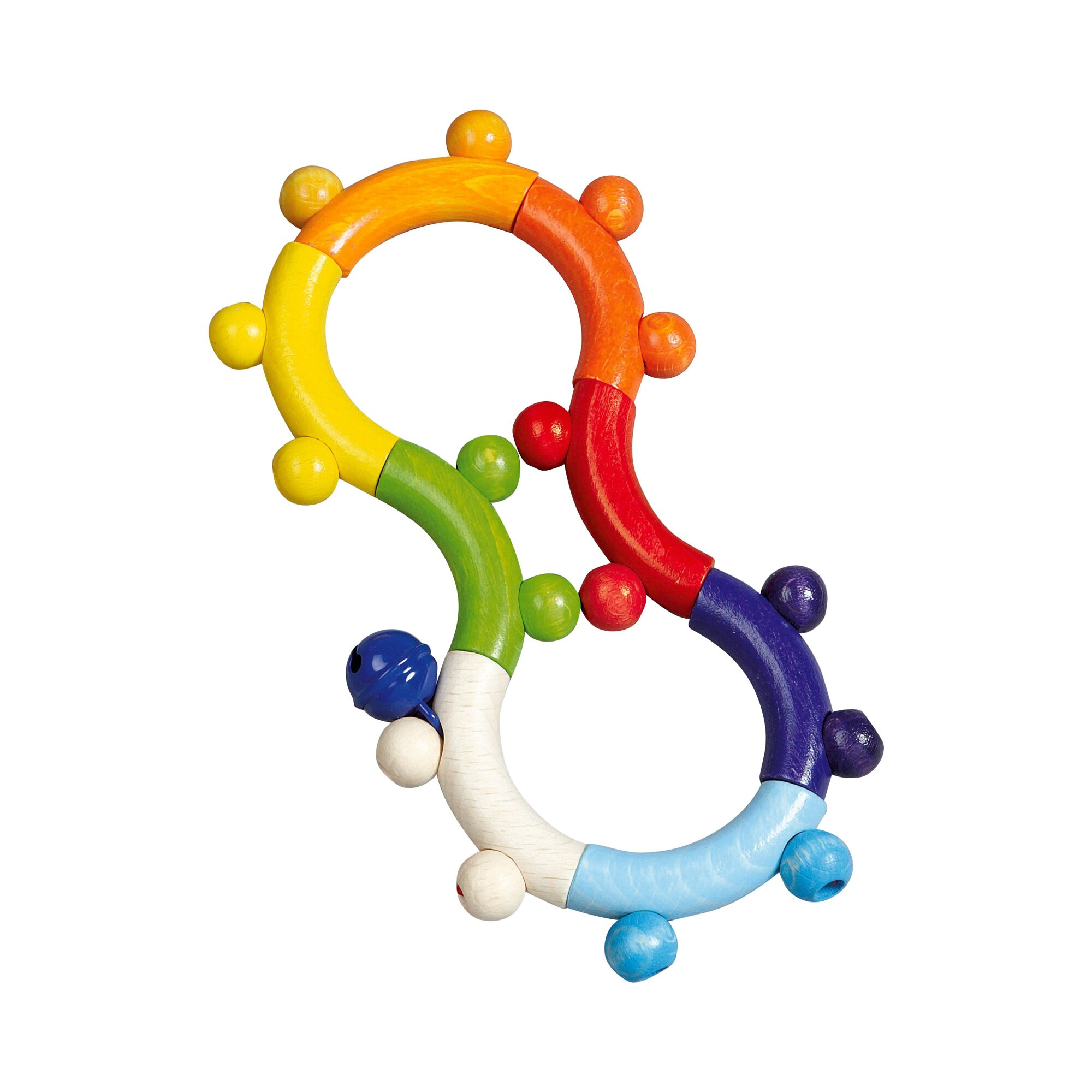 Hess Spielzeug Rassel Motorik 8