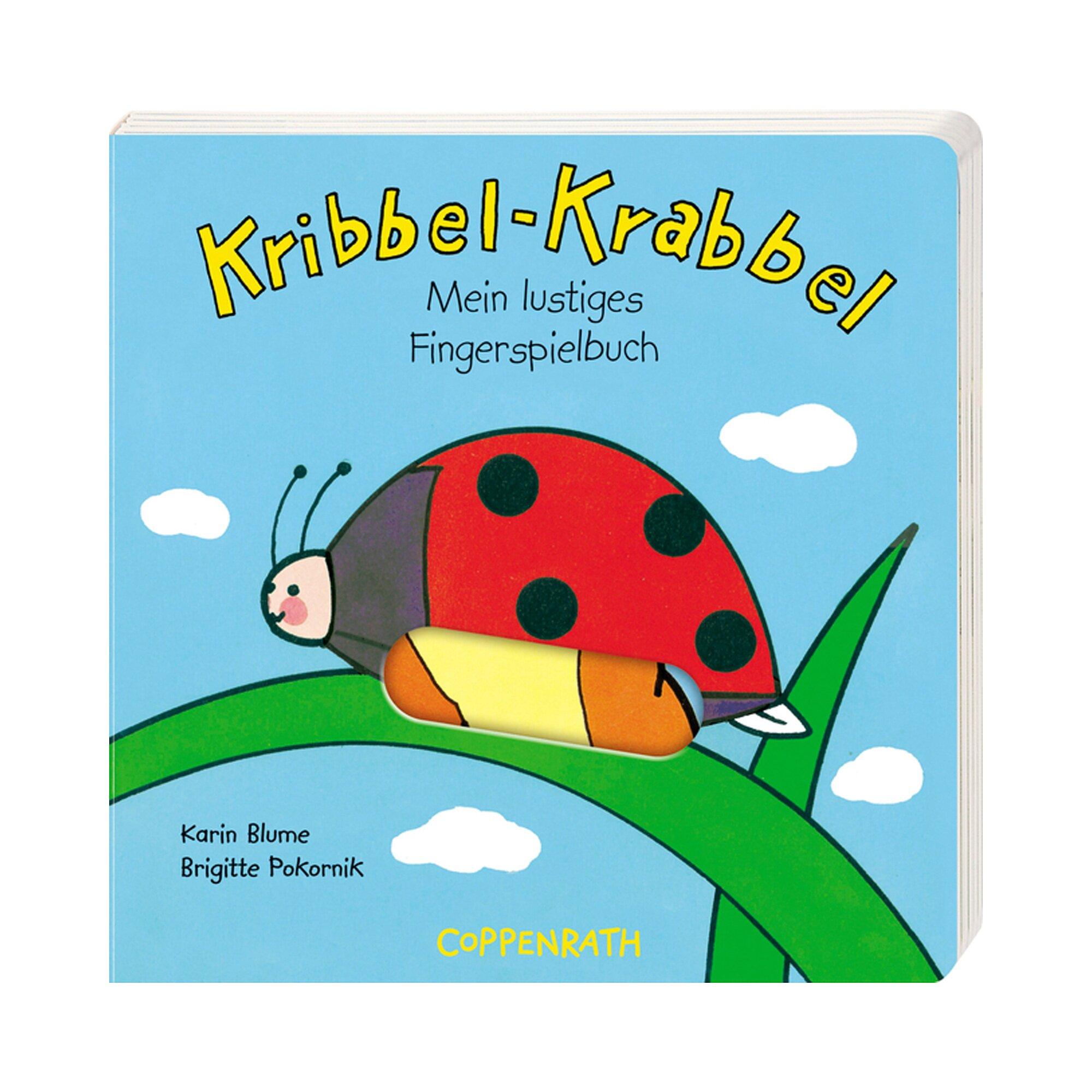 Coppenrath Die Spiegelburg Pappbilderbuch Kribbel-Krabbel - Mein lustiges Fingerspielbuch