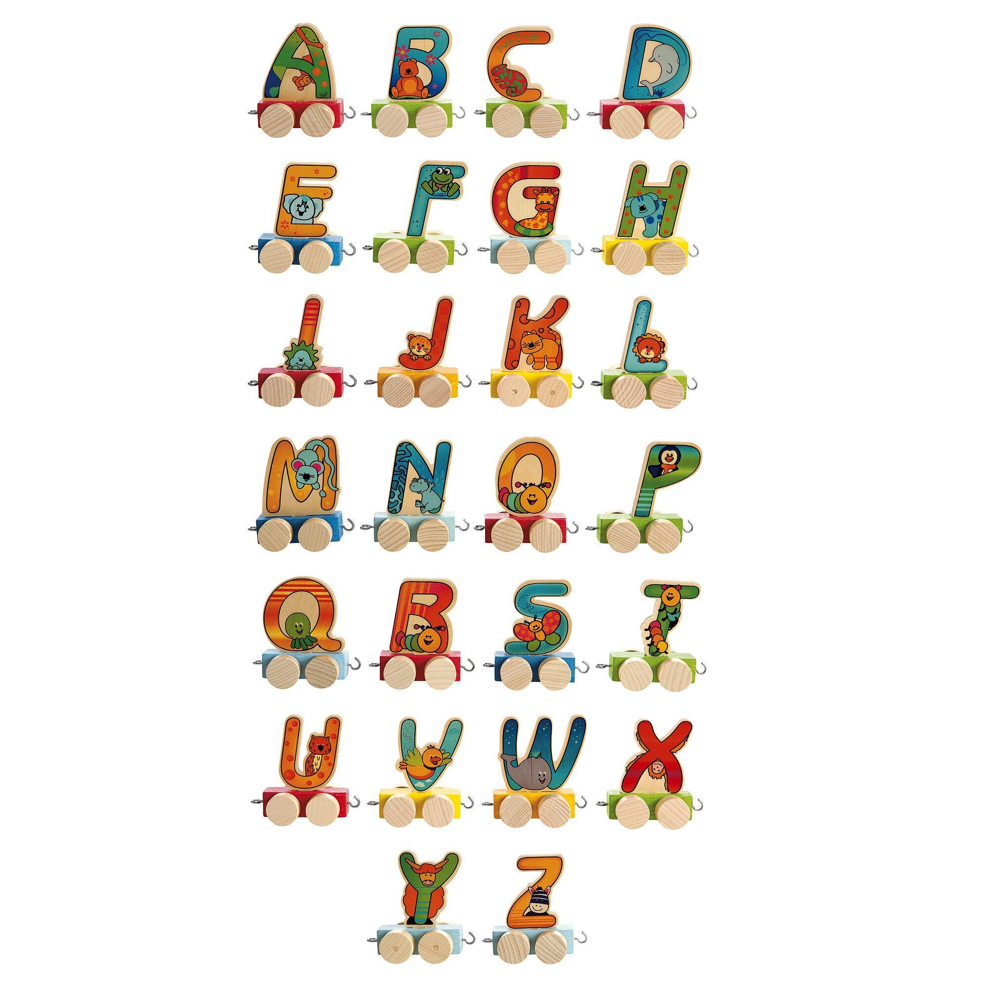 Hess Spielzeug Waggon Buchstaben für Geburtstagszug
