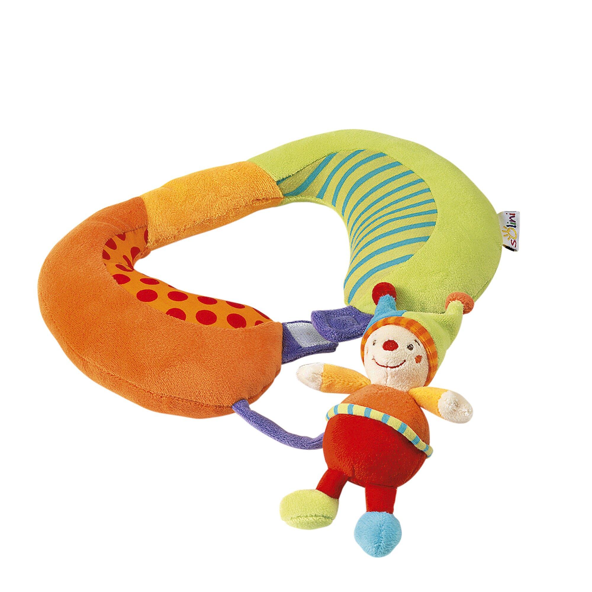 Solini Baby-Nackenstütze Clown mehrfarbig
