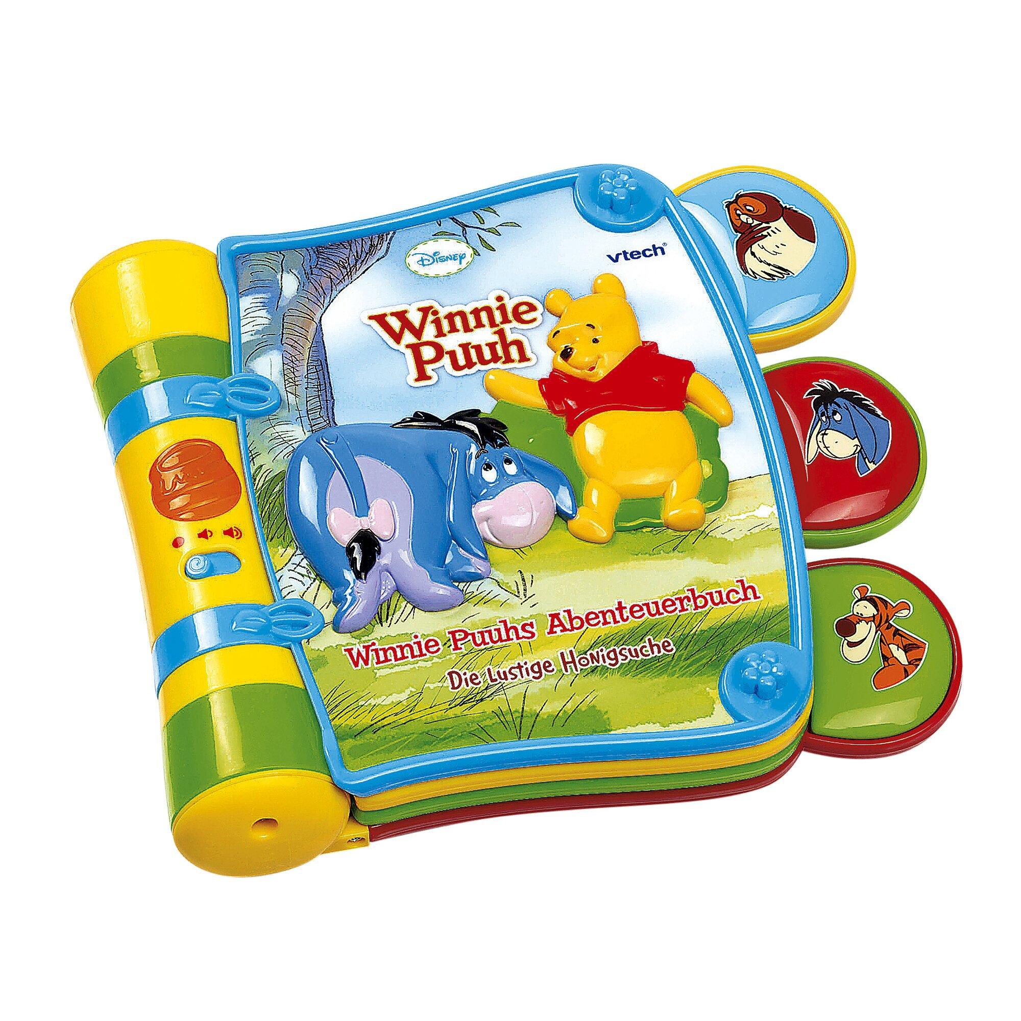Disney Winnie Puuh Musikspielzeug Abenteuerbuch - Die lustige Honigsuche