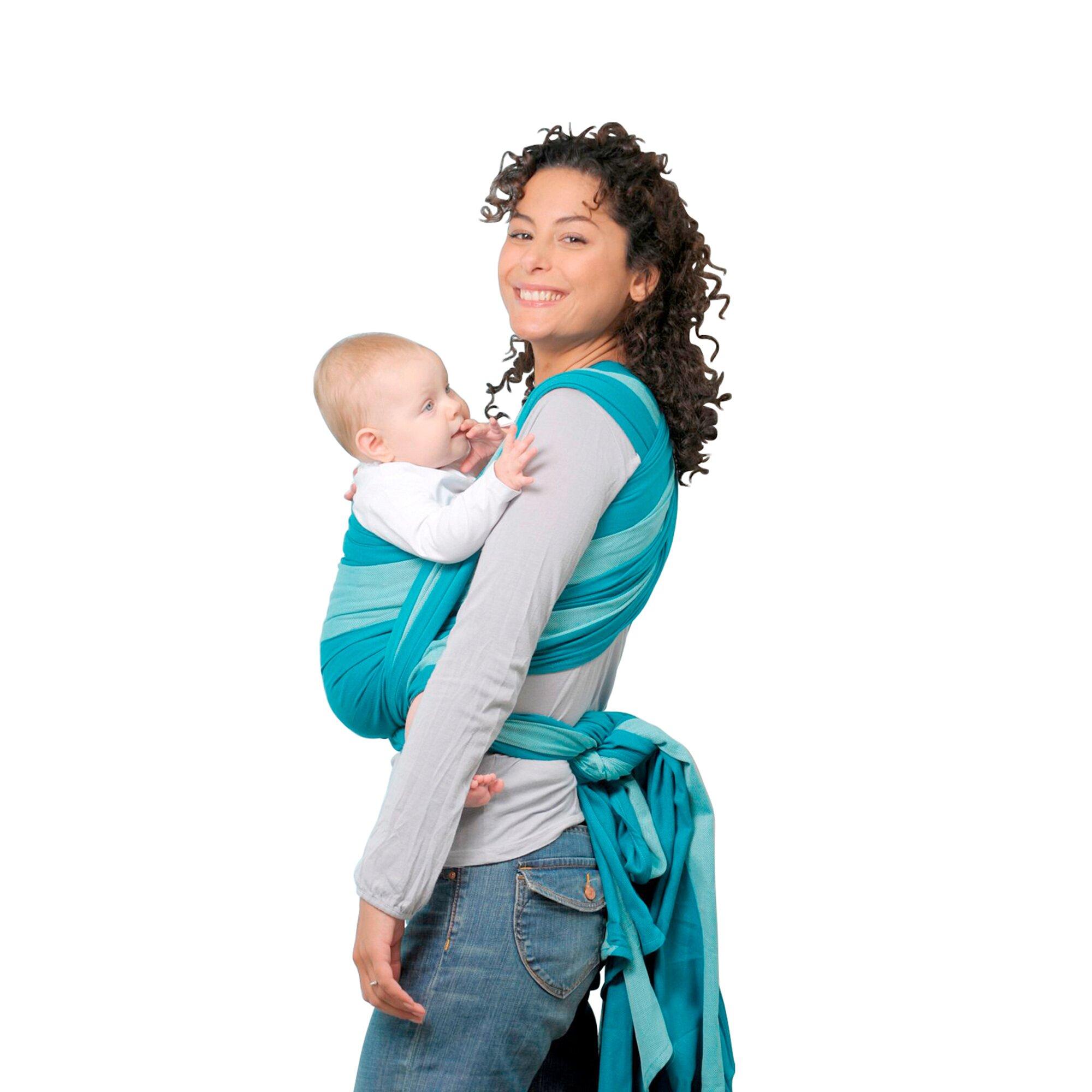 amazonas-babytragetuch-carry-sling-tuerkis