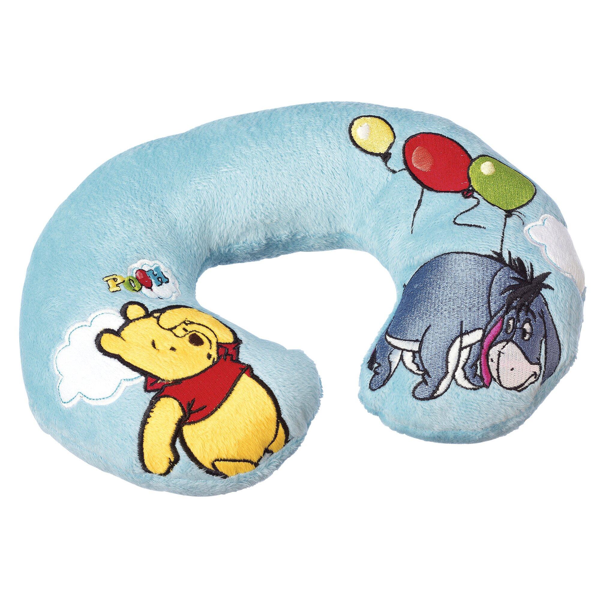Disney Winnie Pooh Nackenpolster hellblau