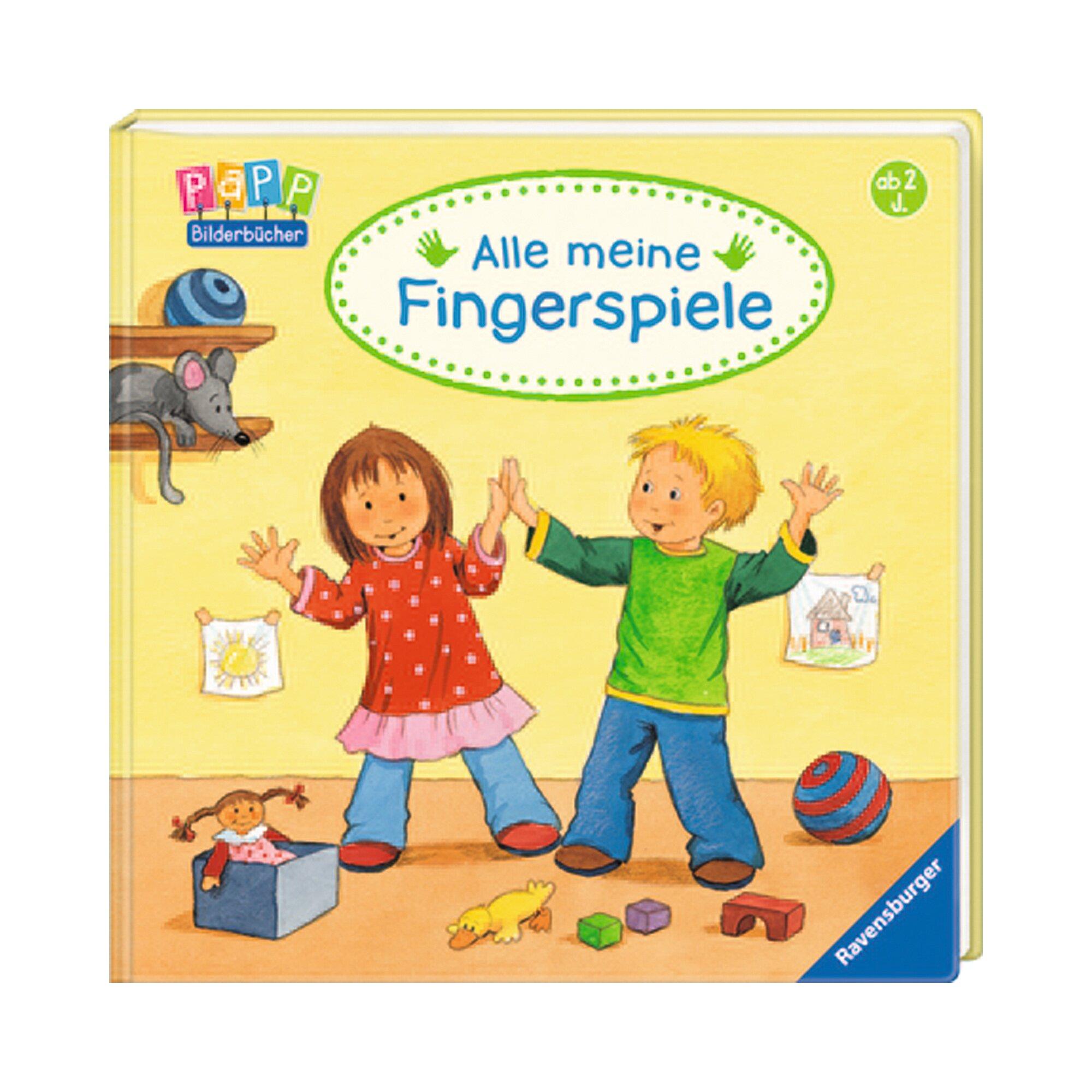 Ravensburger Pappbilderbuch-Alle meine Fingerspiele