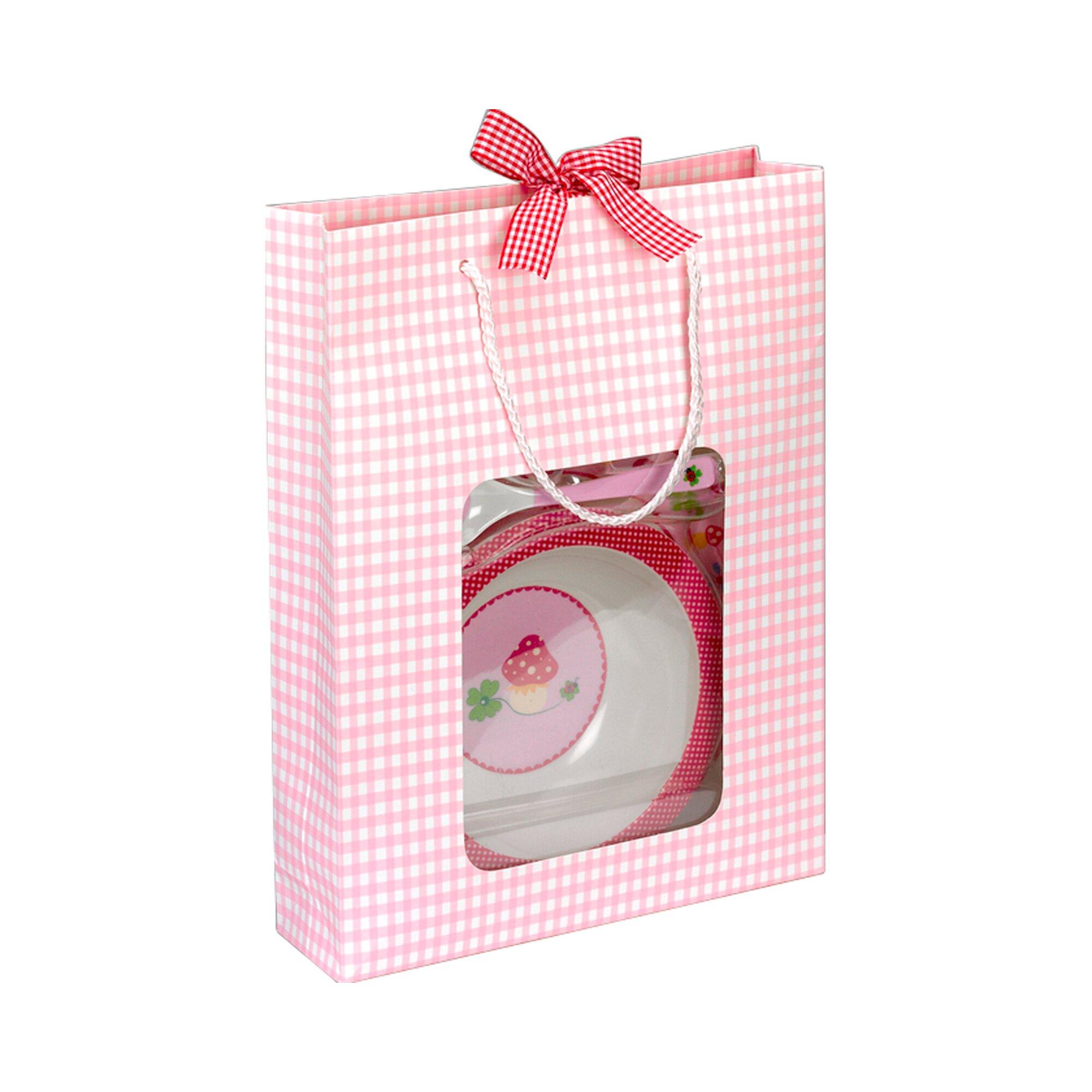 coppenrath-geschirrset-baby-gluck-rosa