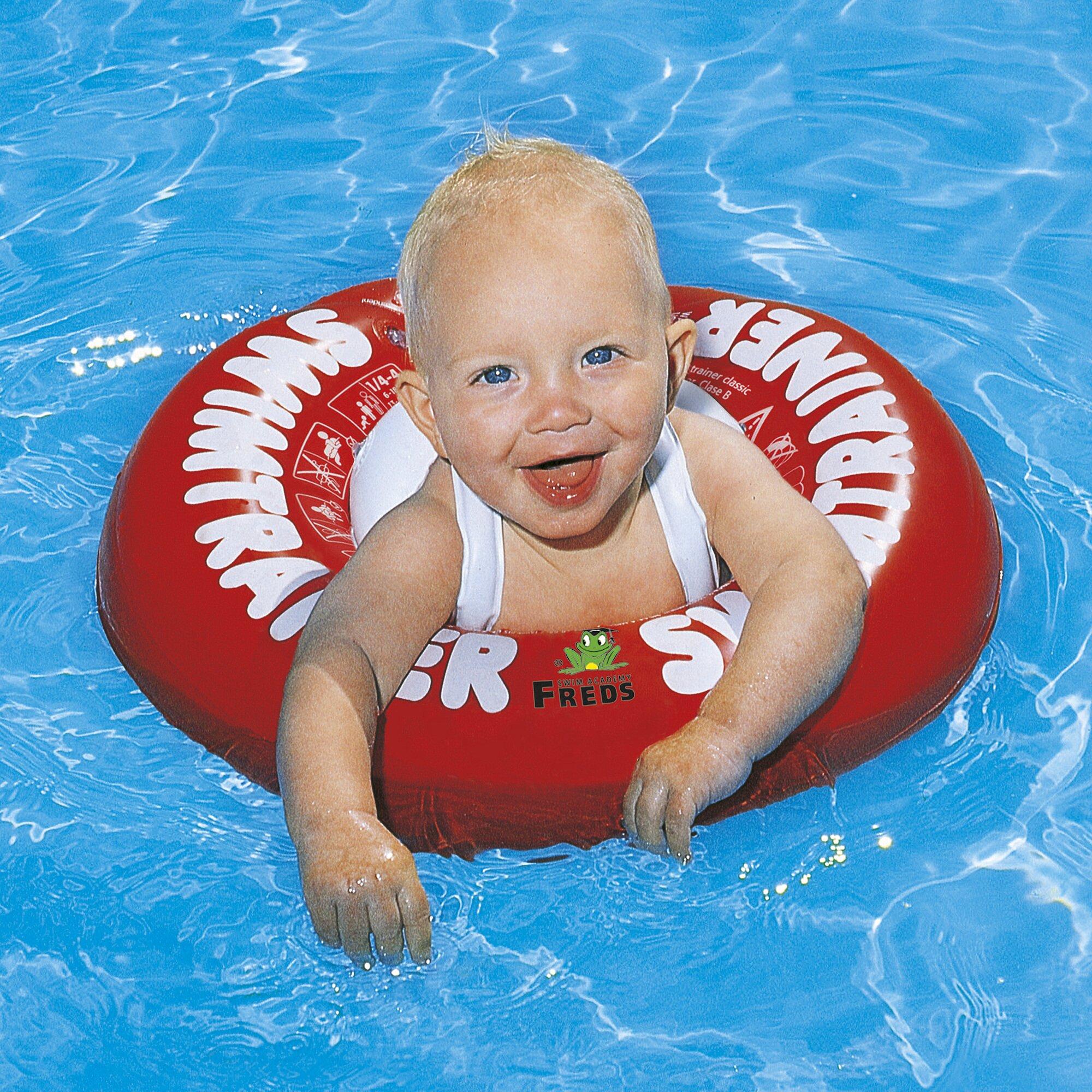 freds-swim-academy-swimtrainer-classic-rot, 22.99 EUR @ babywalz-de