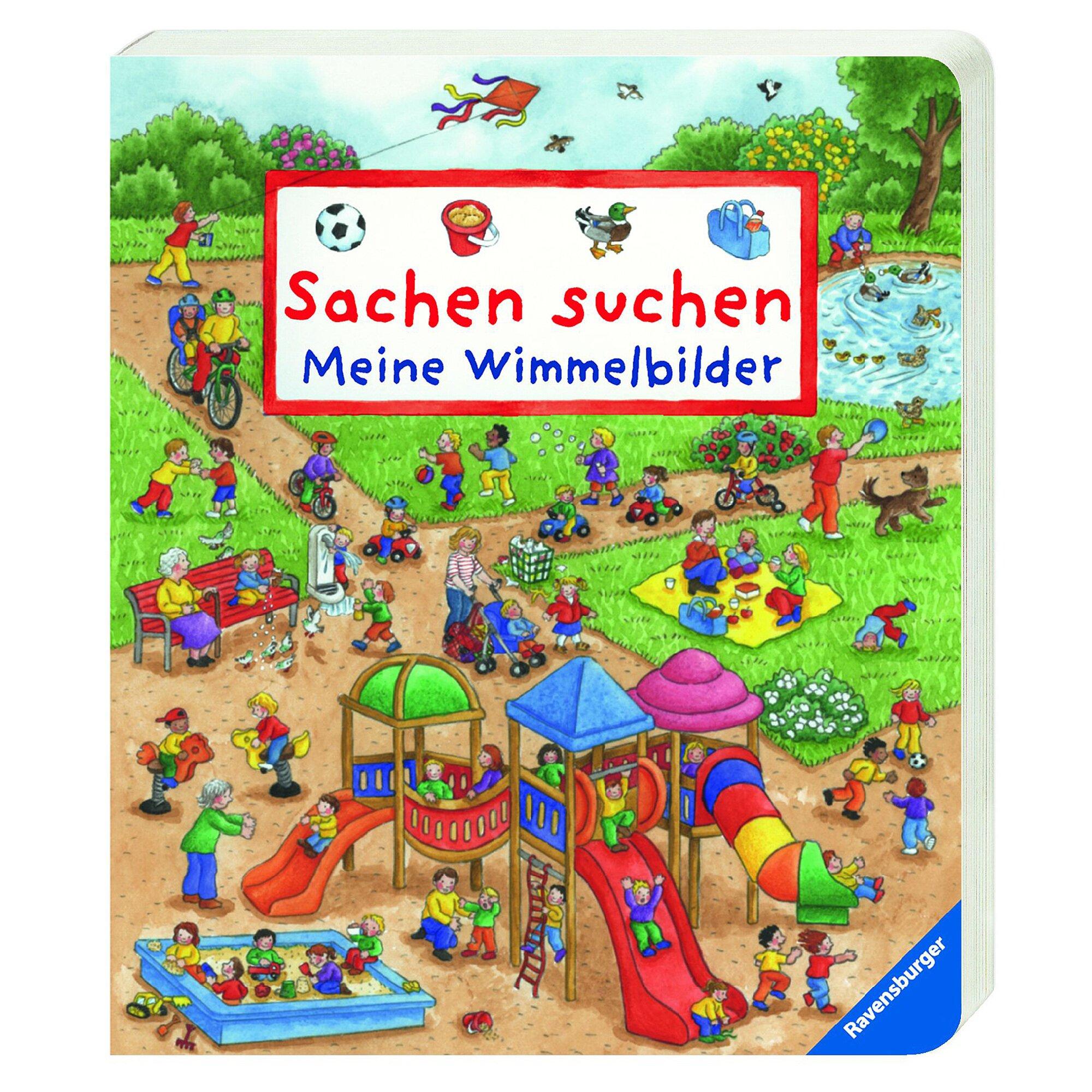 Ravensburger Wimmelbuch-Sachen suchen: Meine Wimmelbilder