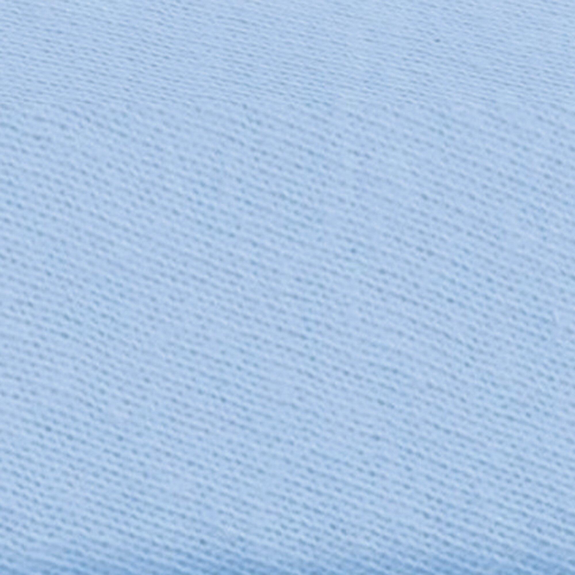 Julius Zöllner Spannbetttuch TENCEL® 40x80 - 40x90 cm hellblau