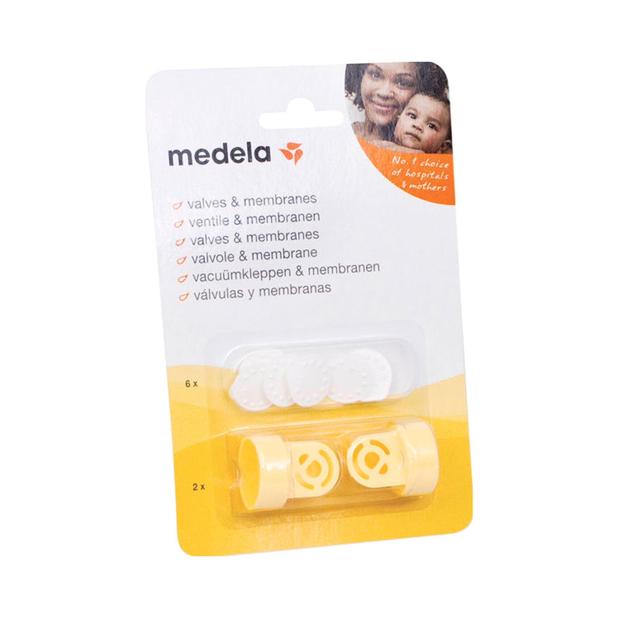 Medela Ersatzteil für Milchpumpe Ventile und Membranen
