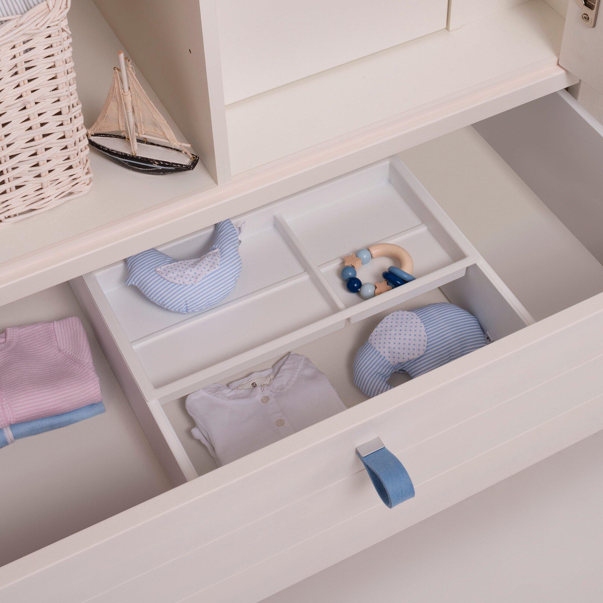 Schubkästen-Set für Kleiderschrank FRIDA & ANTON linke Seite