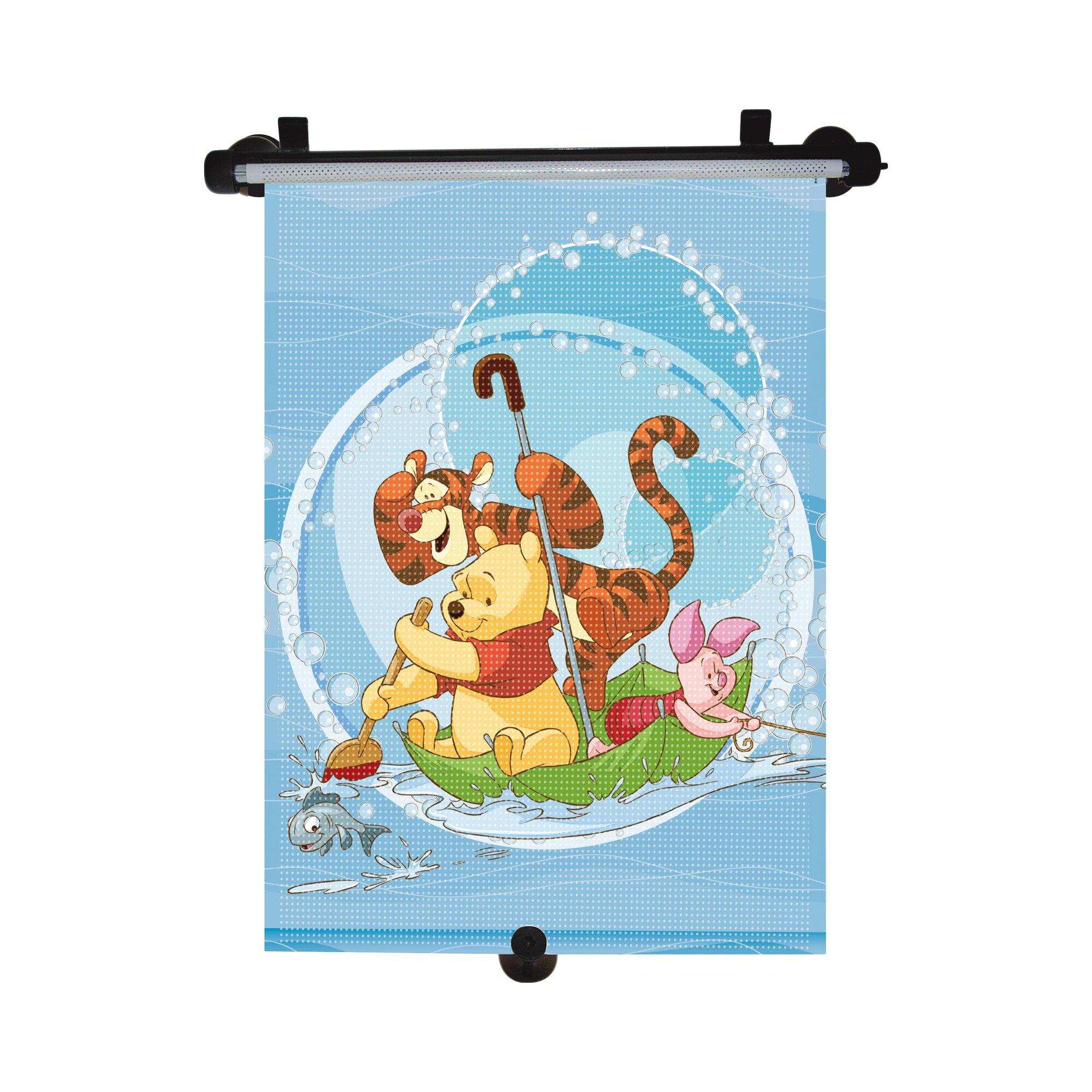 Disney Winnie Puuh Auto-Sonnenschutzrollo mehrfarbig
