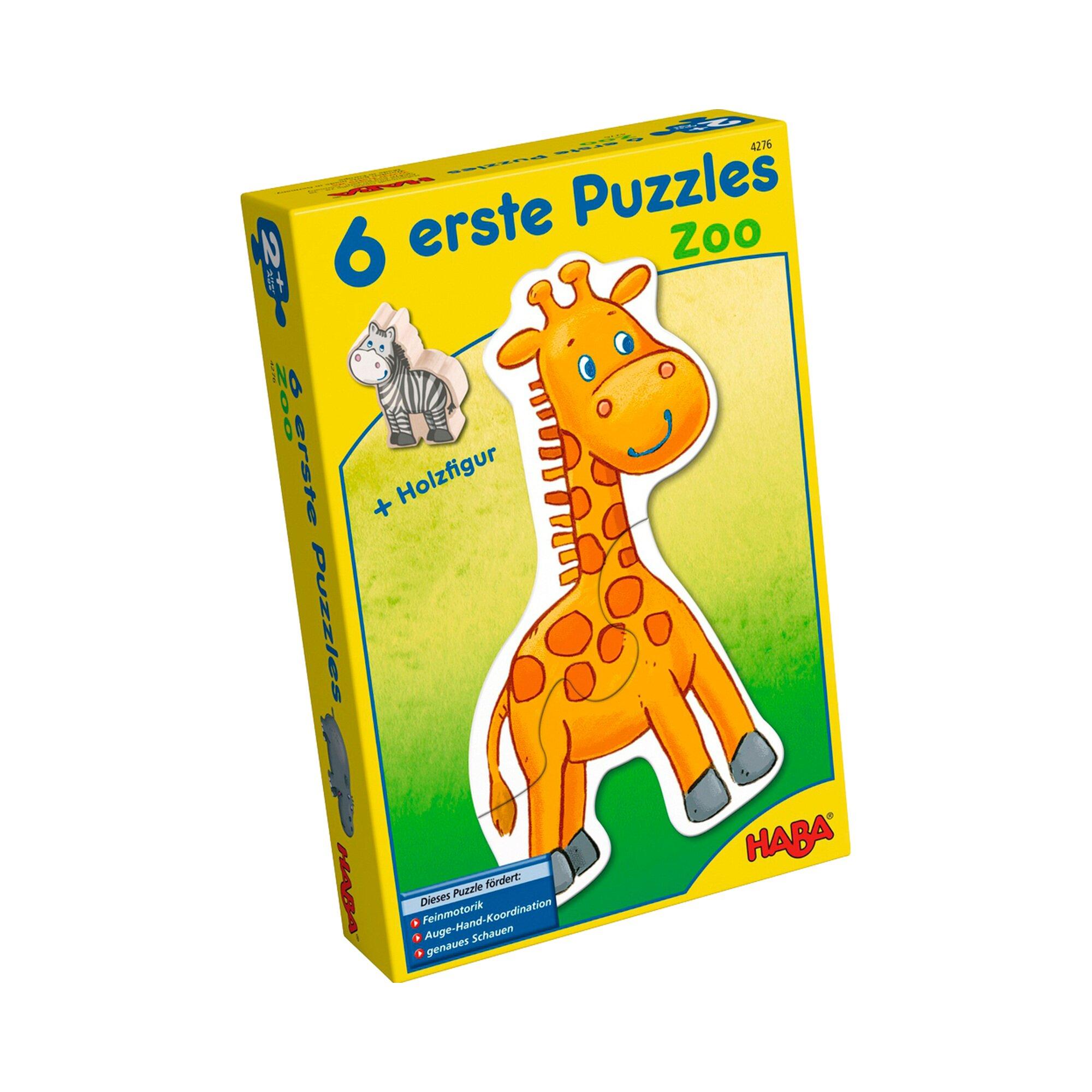 Haba 6 erste Puzzles Zoo