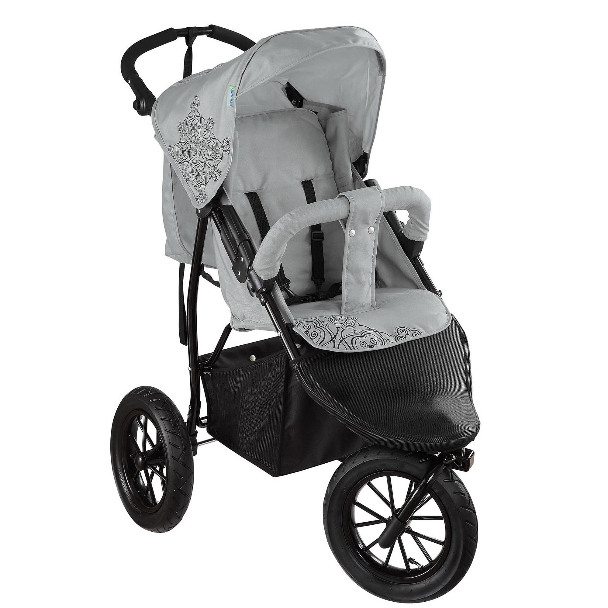 Knorr-Baby Joggy S Kinderwagen Sportwagen grau