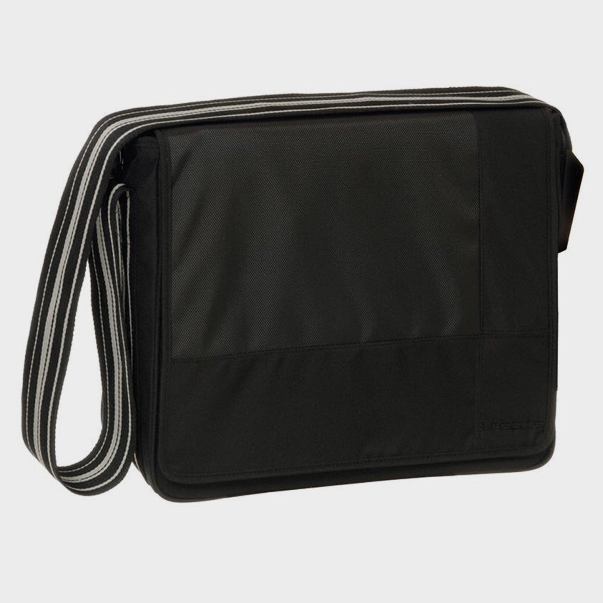 Casual Wickeltasche Messenger Bag schwarz