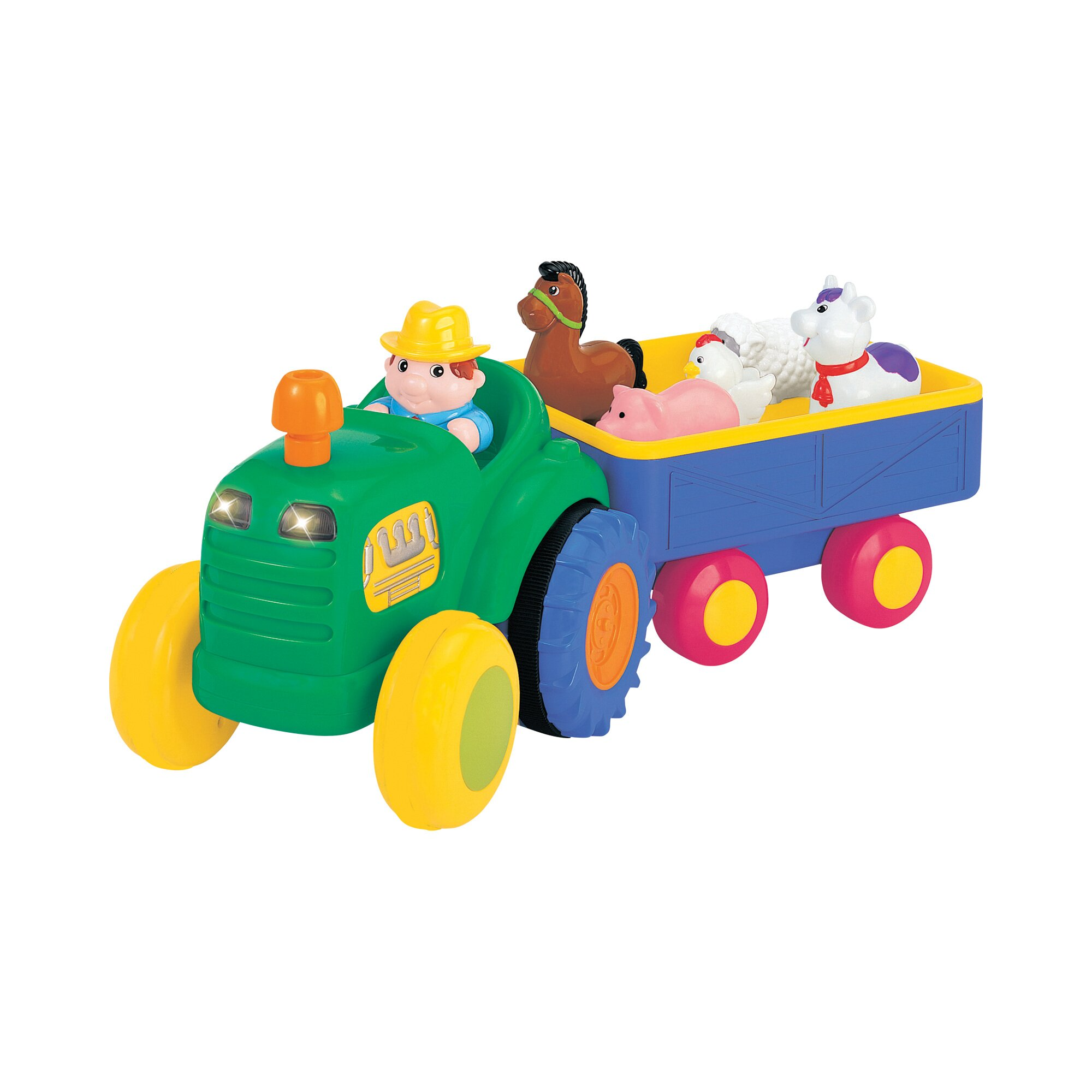 traktor-mit-anhanger, 29.99 EUR @ babywalz-de