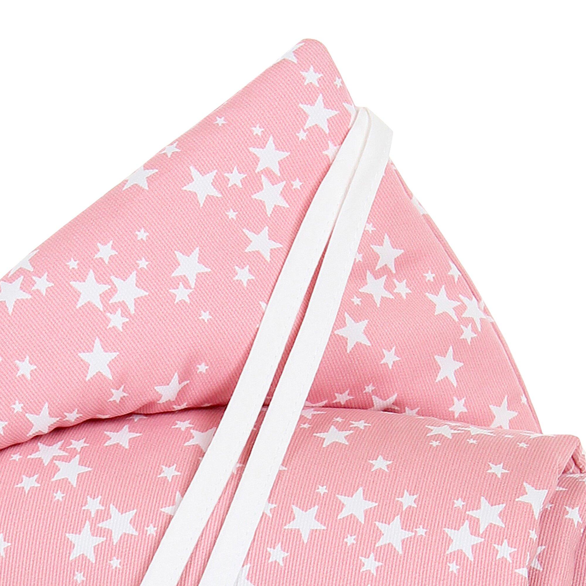 babybay-nestchen-pique-fur-beistellbett-maxi-boxspring-und-comfort-rosa