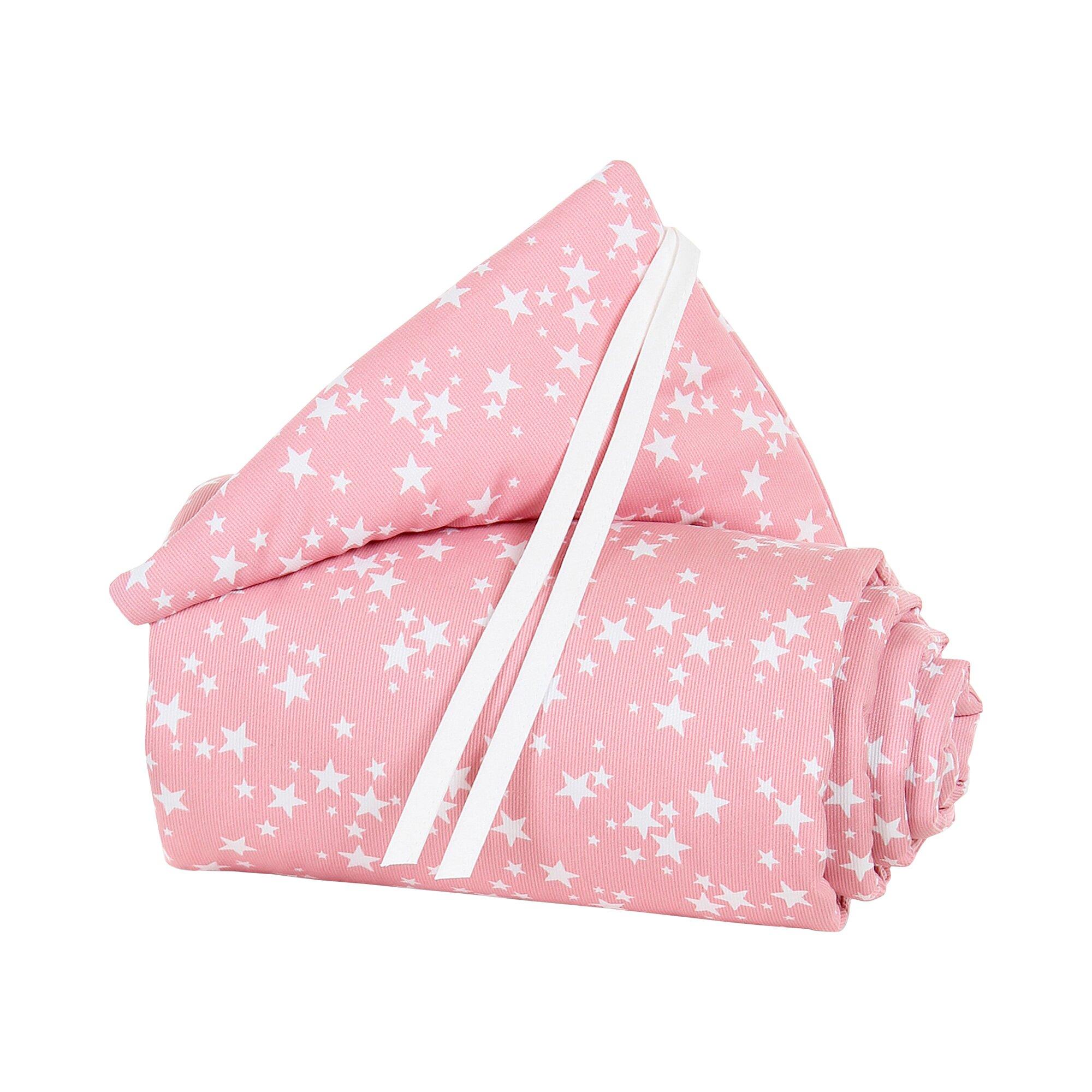 Babybay® Nestchen Piqué für Beistellbett Maxi, Boxspring und Comfort rosa