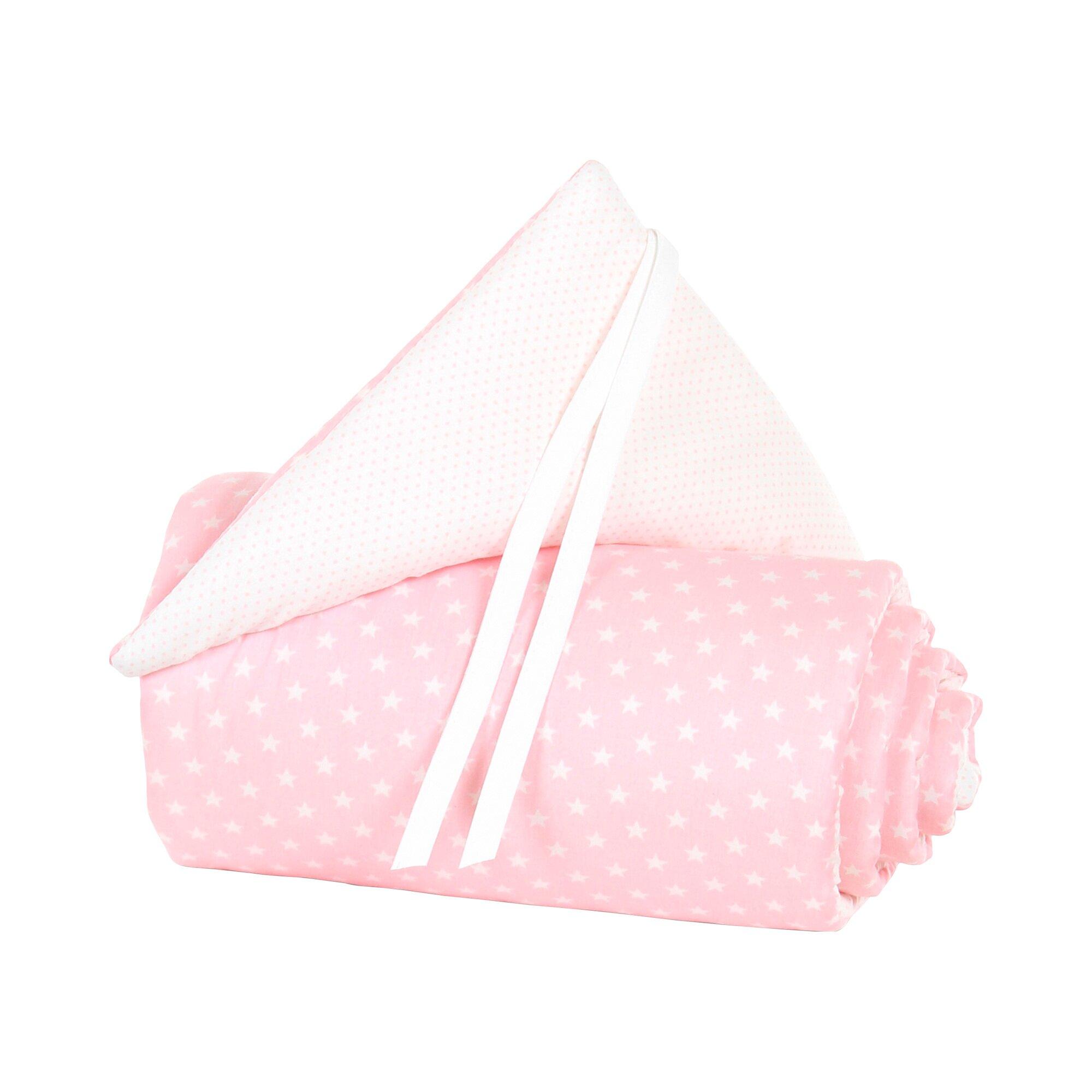 Babybay® Nestchen Organic Cotton für Original rosa