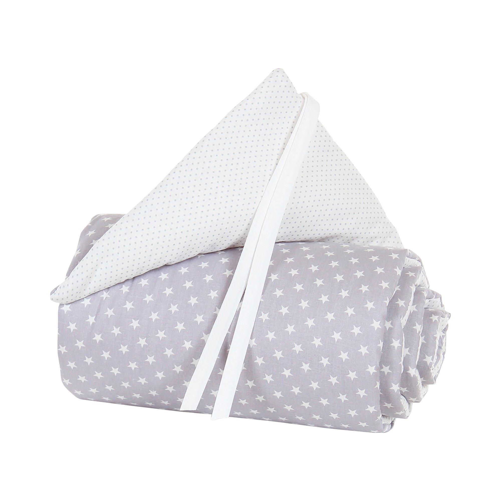 Babybay® Nestchen Organic Cotton für Maxi, Boxspring und Comfort grau