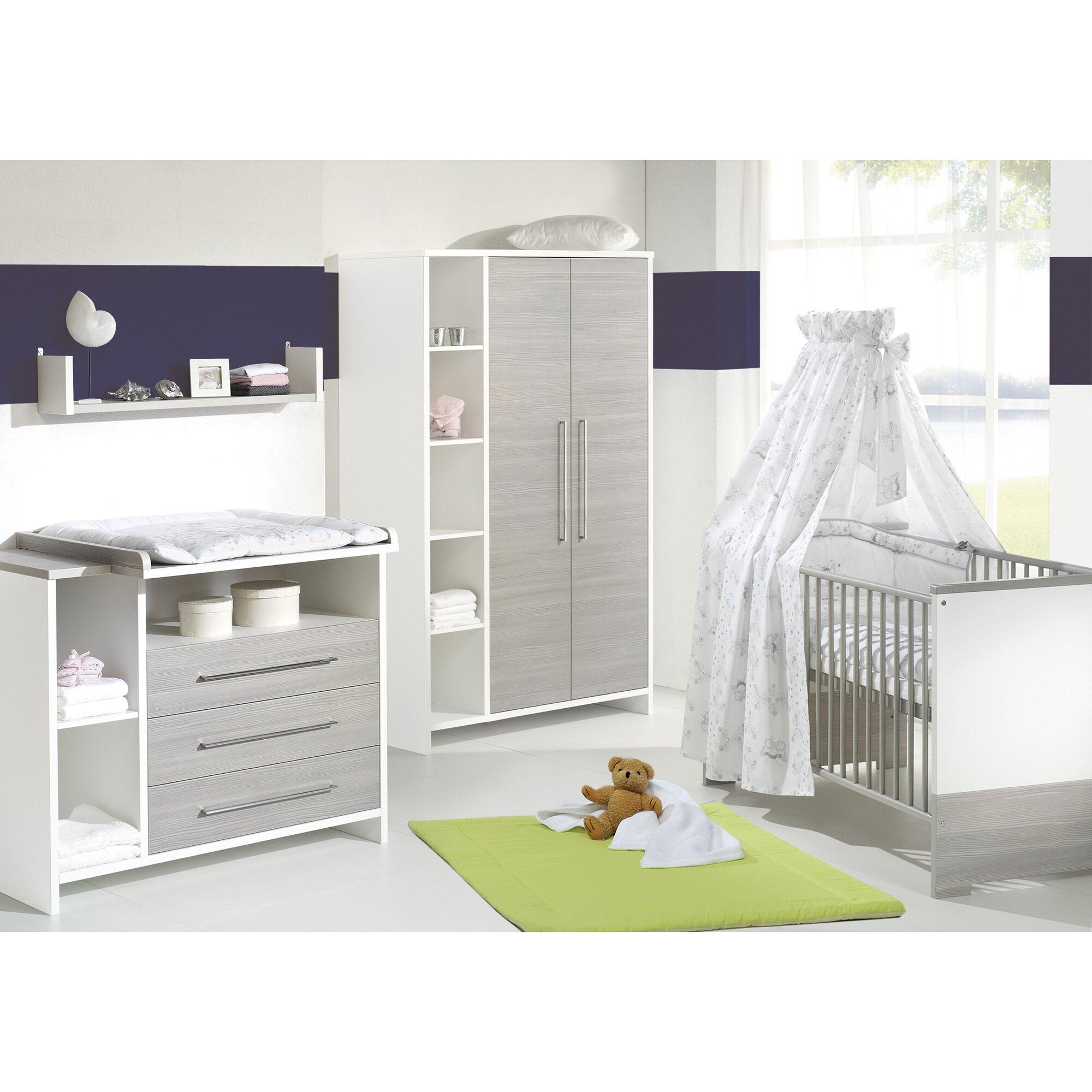 Schardt Kinderzimmer-Set Eco Silber 3tlg.