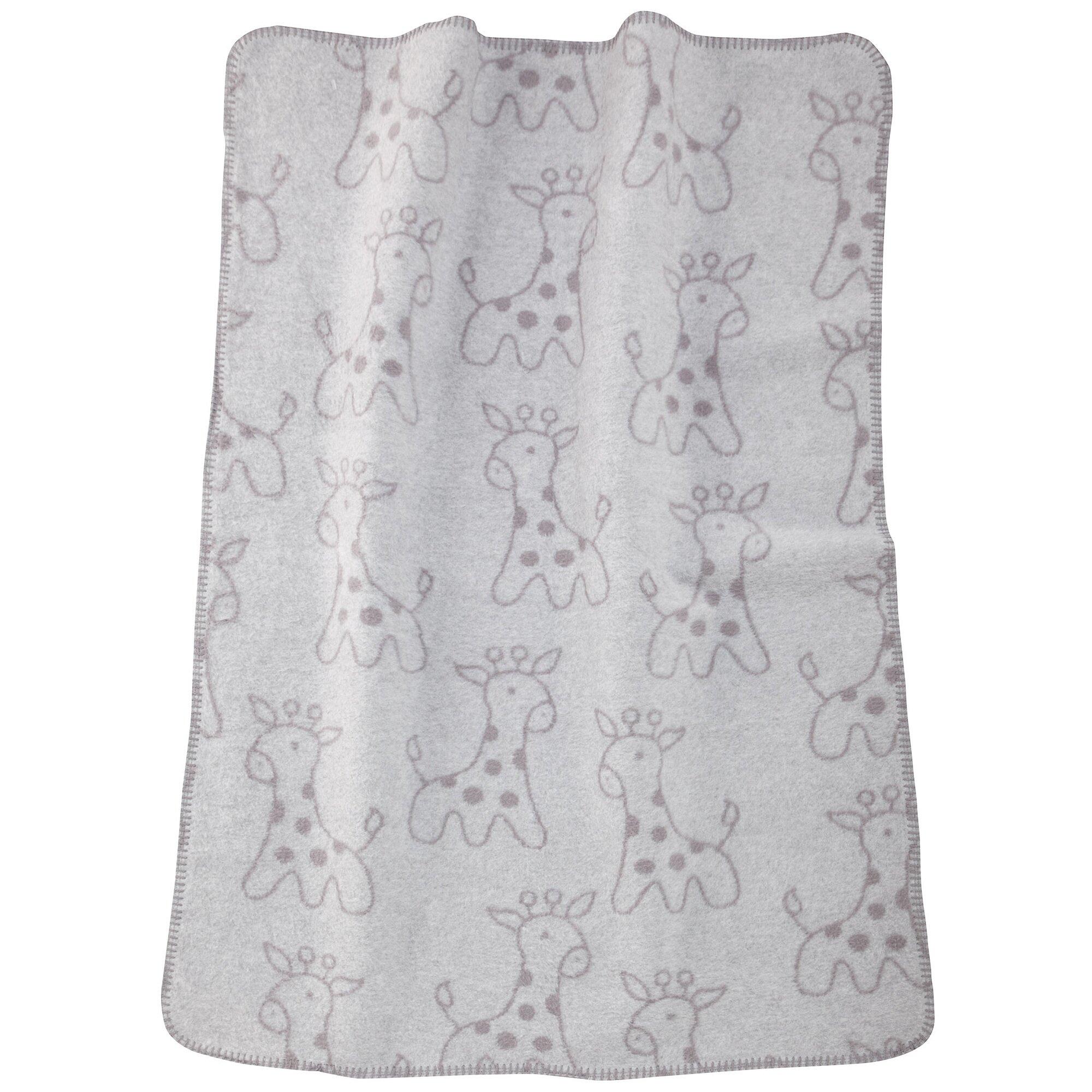 alvi-babydecke-giraffe-upf-50-75x100-cm-grau, 15.69 EUR @ babywalz-de