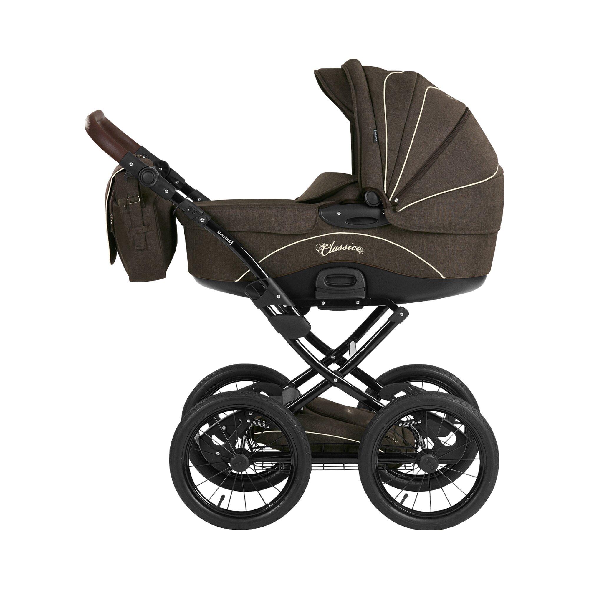knorr-baby-kombikinderwagen-classico-braun