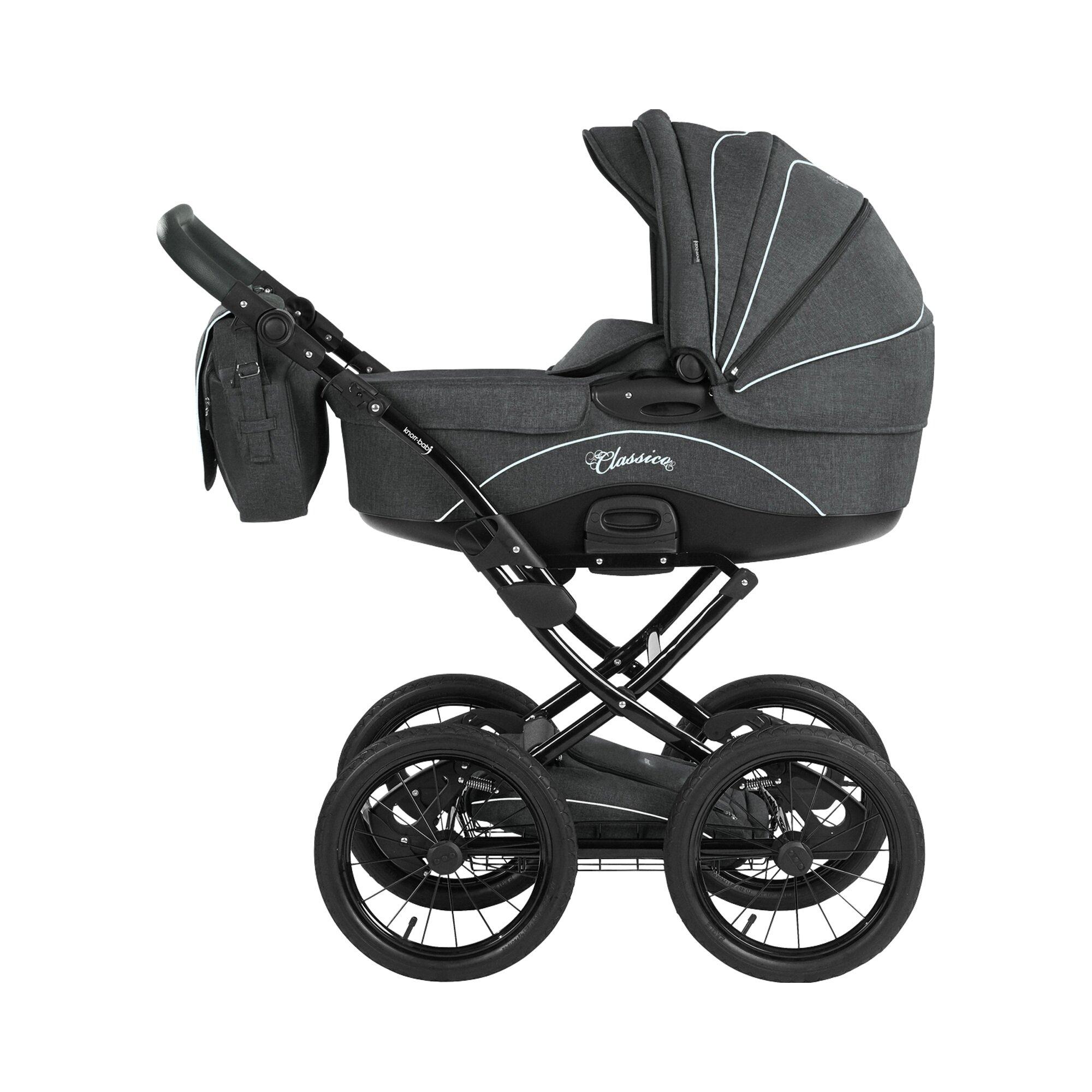 knorr-baby-classico-kombikinderwagen-grau