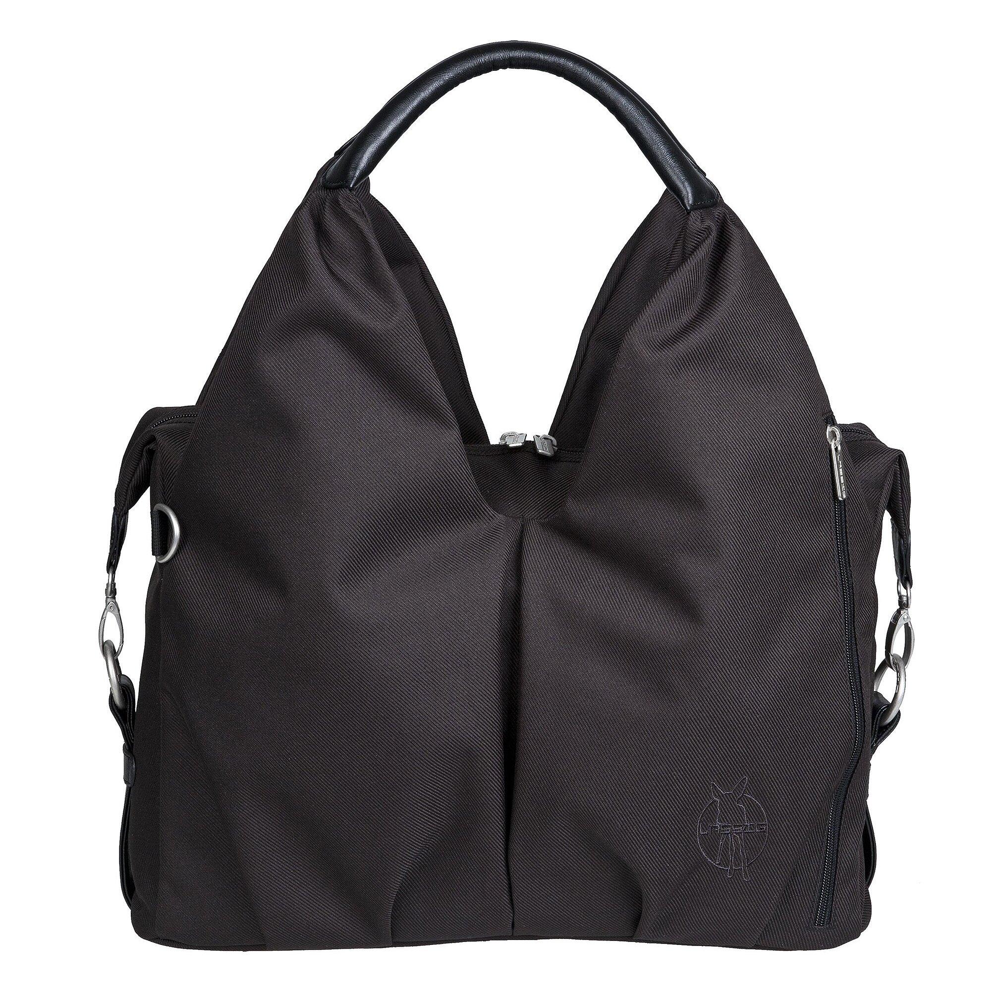 Green Label Wickeltasche Neckline Bag schwarz