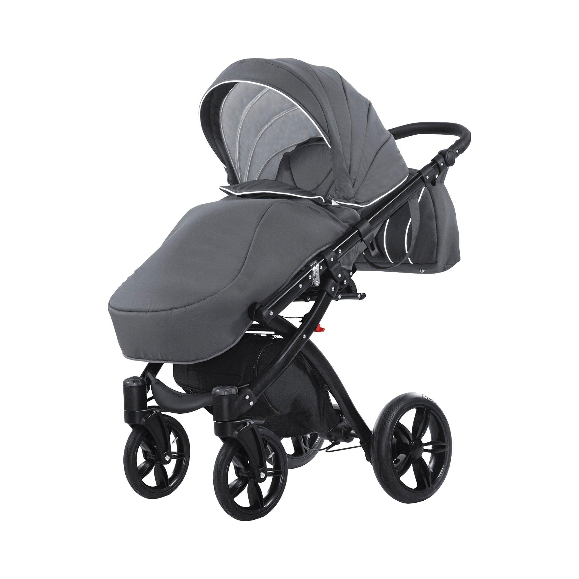 knorr-baby-alive-born-to-ride-kombikinderwagen-mit-wickeltasche-grau