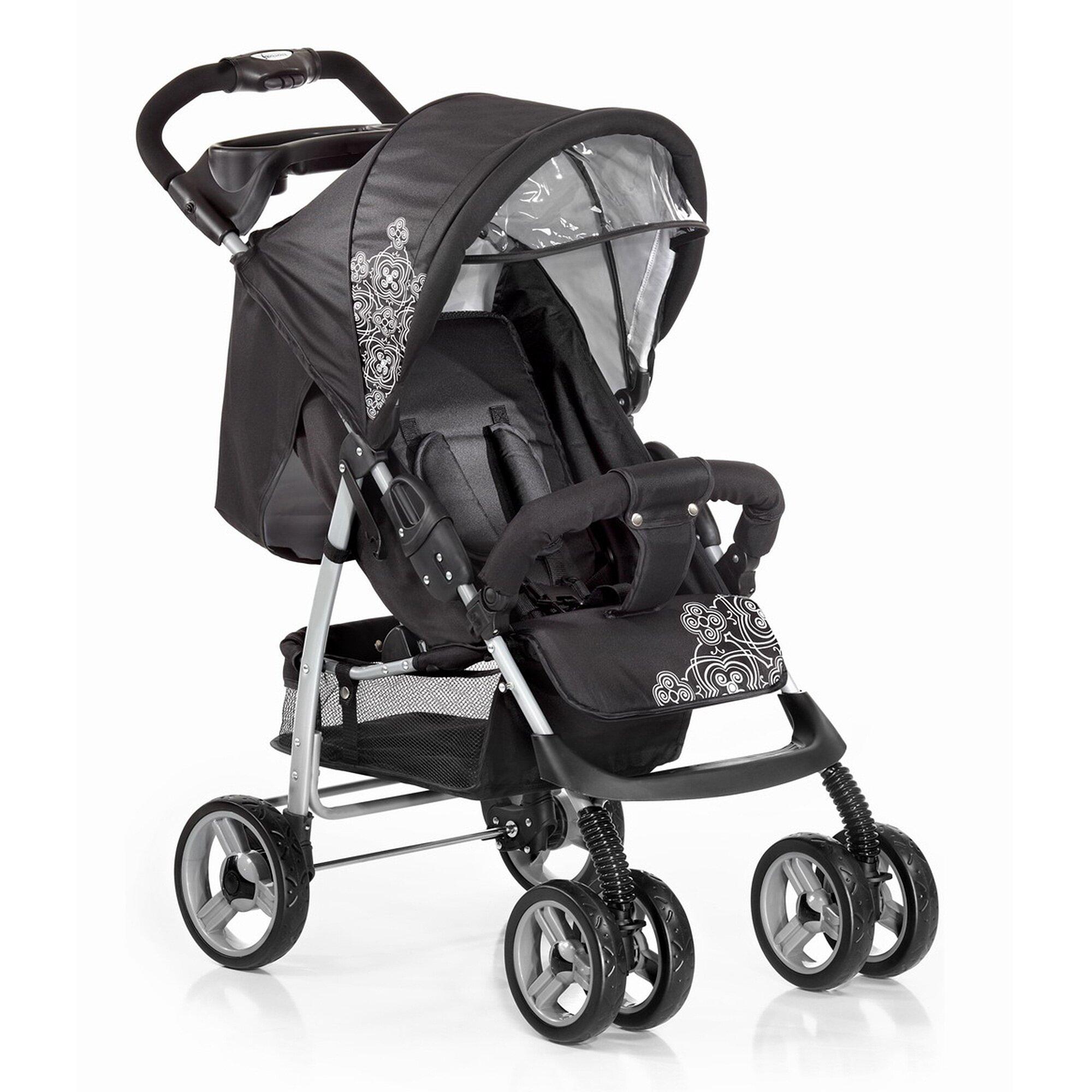 Knorr-Baby V-Easy Fold Buggy mit Liegefunktion schwarz