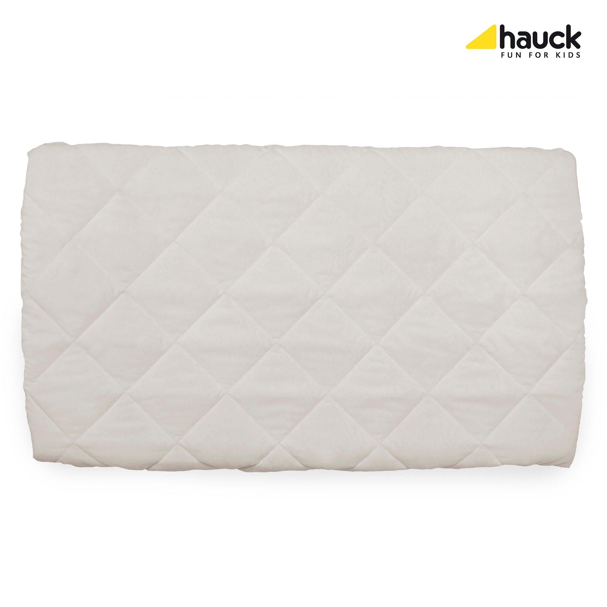 Hauck Spannbetttuch für Reisebett 80x50 cm weiss