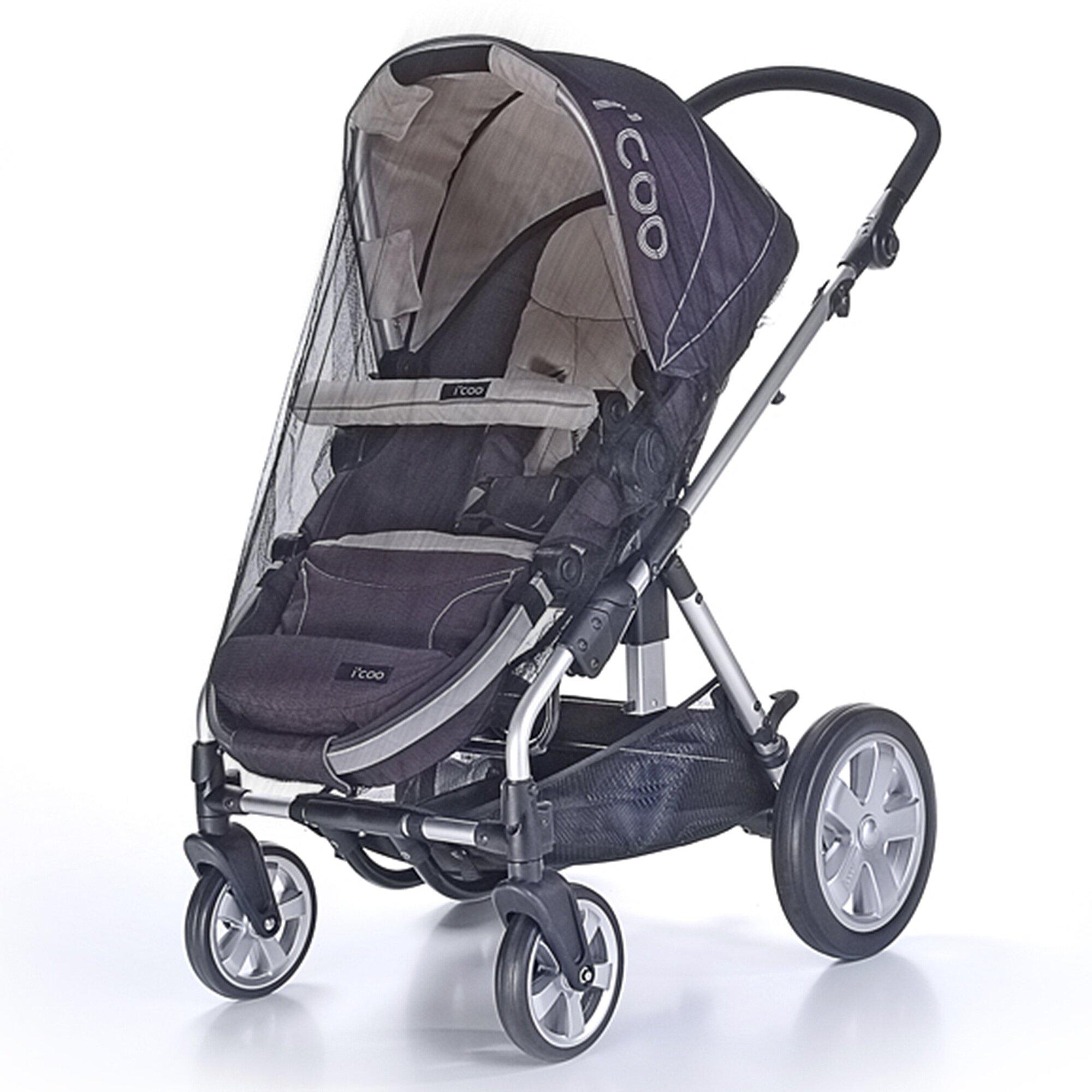 Reer Universal-Insektenschutz 3-in-1 für Babyschale, Reisebett und Kinderwagen