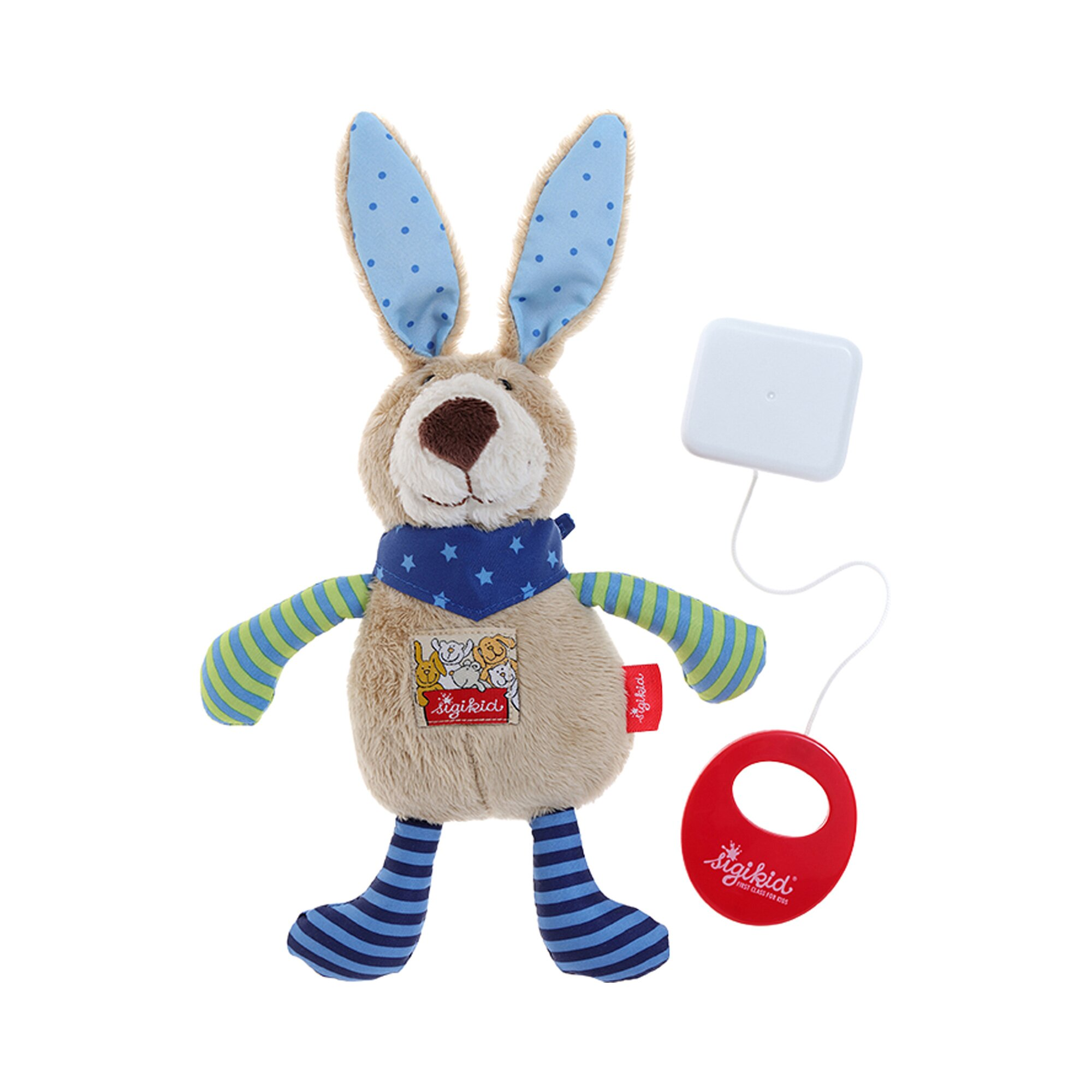 sigikid-spieluhr-hase-red-stars-collection-22-cm, 16.99 EUR @ babywalz-de