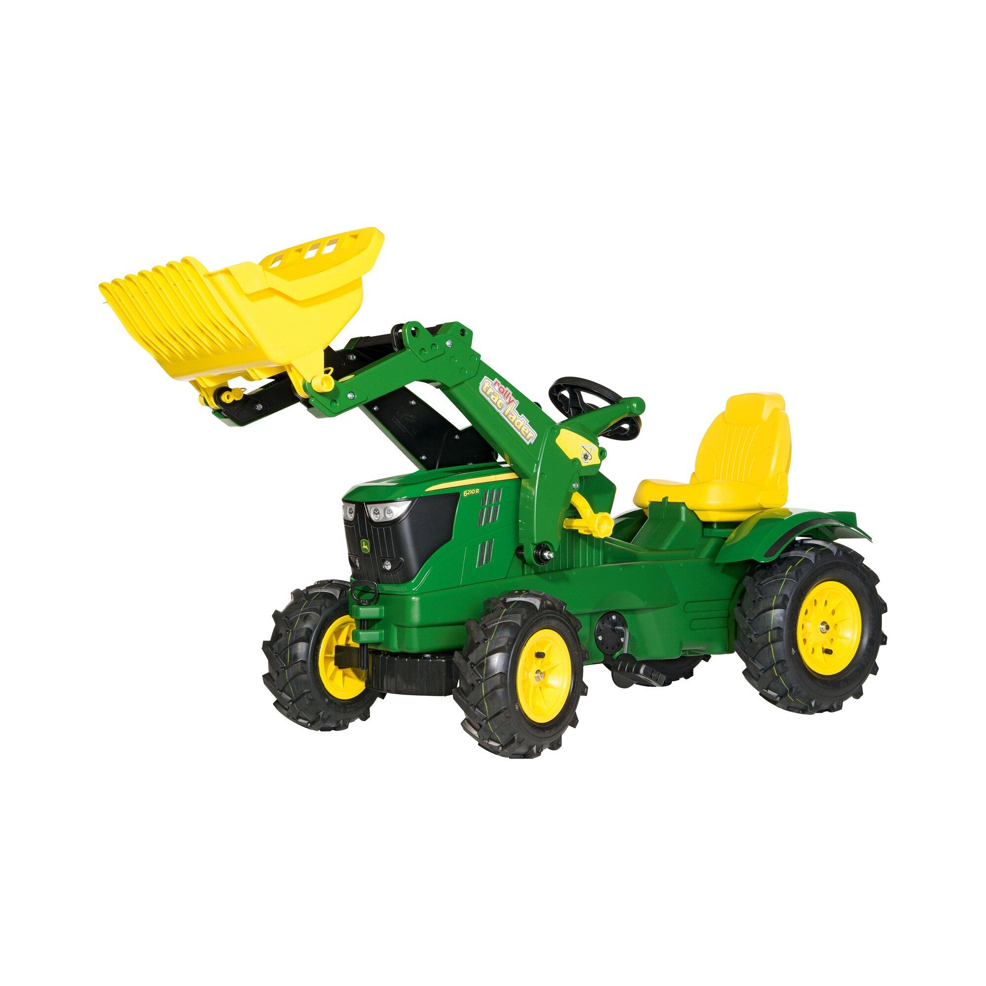 Rolly Toys® Trettraktor rollyFarmtrac John Deere 6210 R mit Frontlader