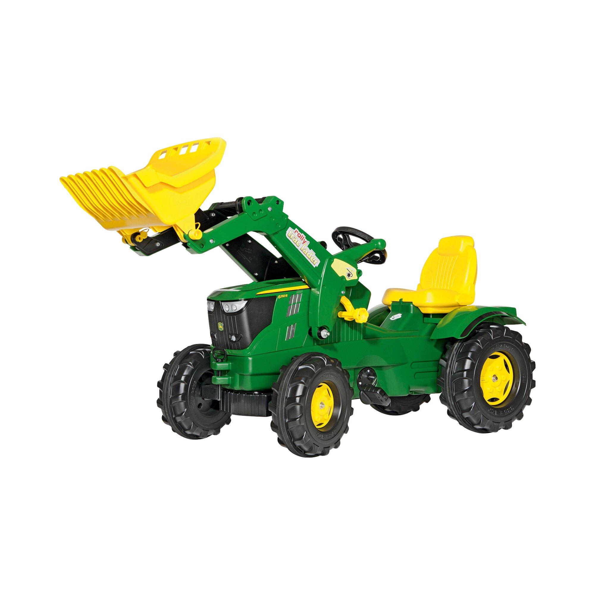 Farmtrac Trettraktor John Deere 6210R mit Frontlader