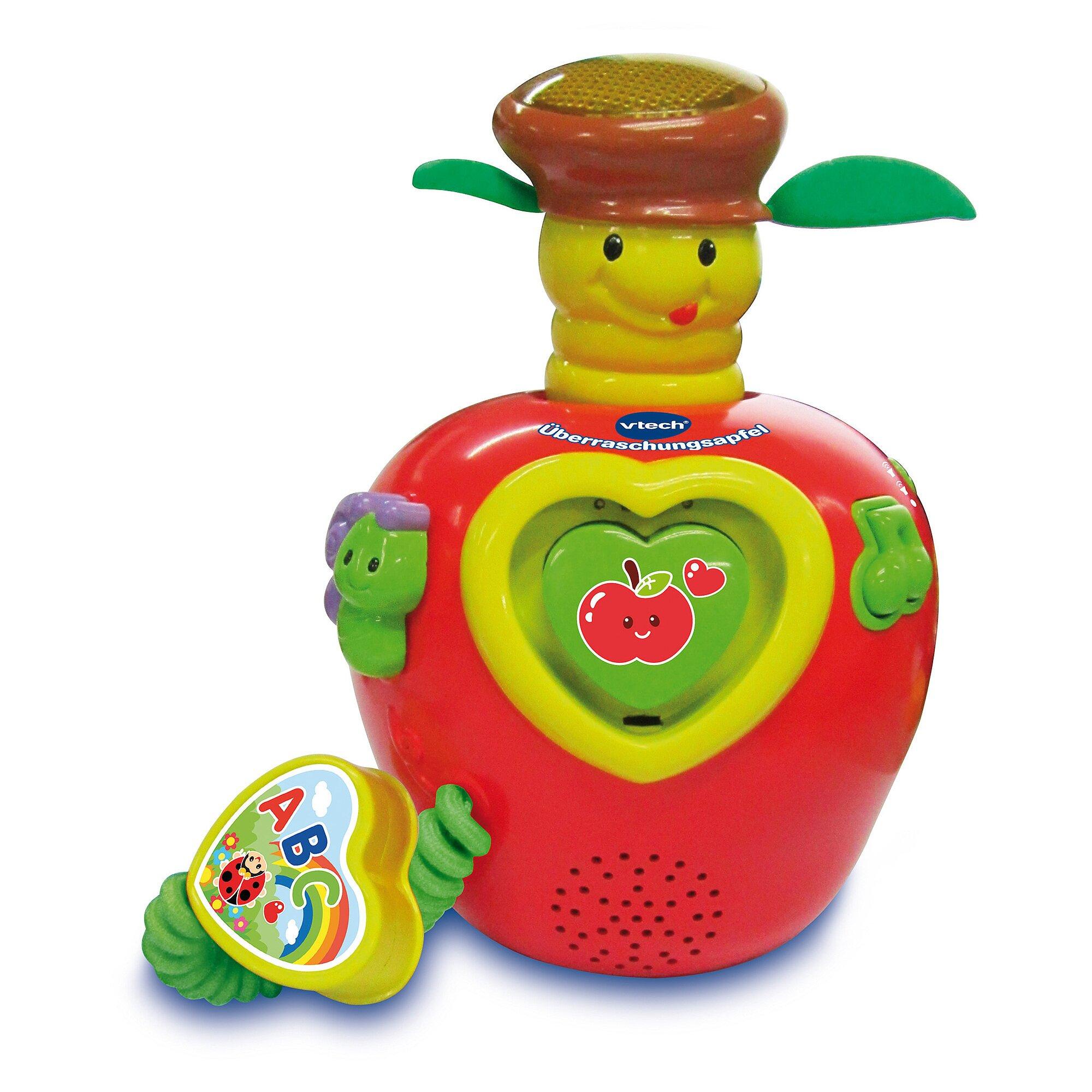 Baby Musikspielzeug Überraschungsapfel